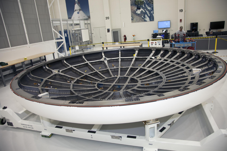 spacecraft heat shield heat - photo #5
