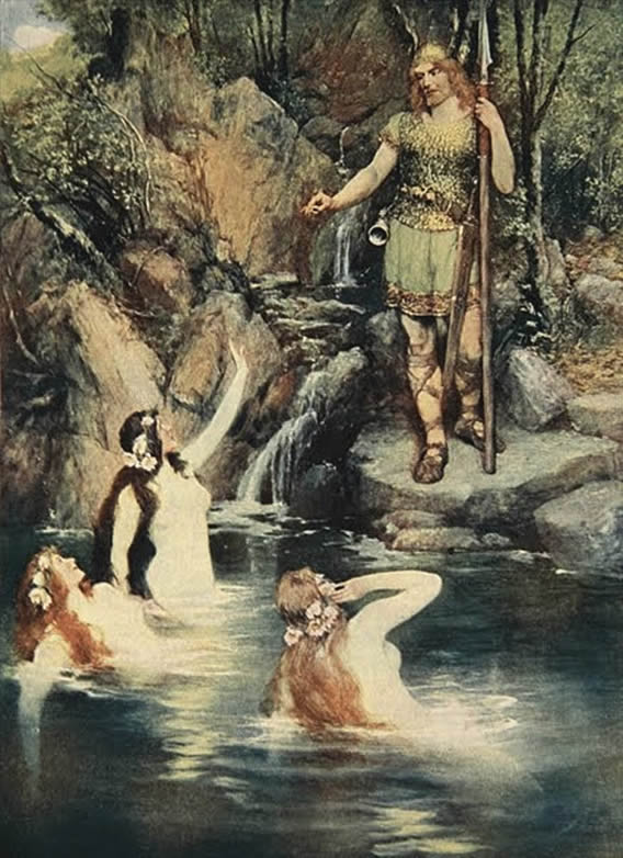 The three maidens swam close to the shore.jpg