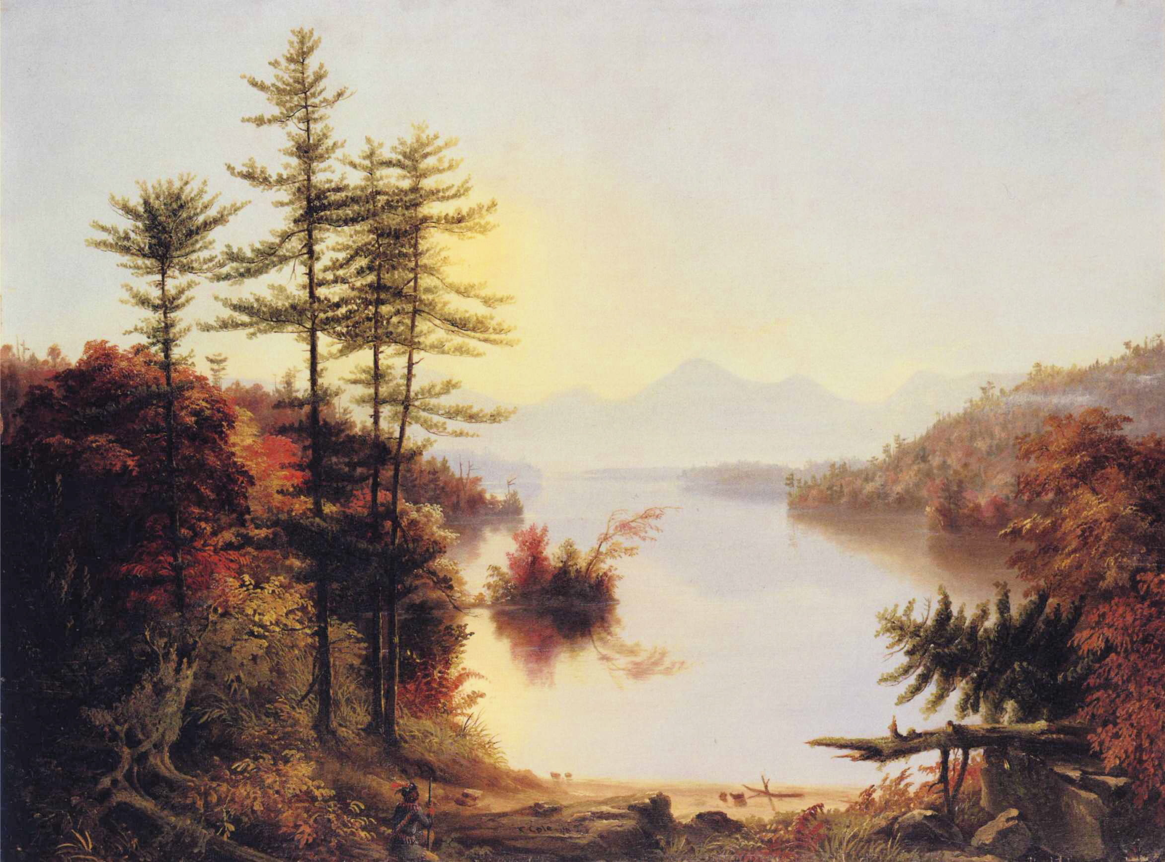 painter thomas cole 2 essay Free essay: he went to philadelphia and ohio as a traveling portrait painter in 1819 in addition, he traveled to europe where he painted many italian.