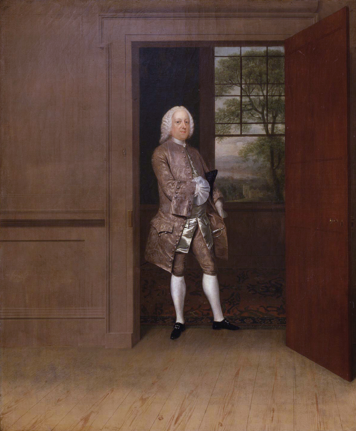 Thomas Penn ([[Arthur Devis (1712–1787)|Arthur Devis]], 1752)