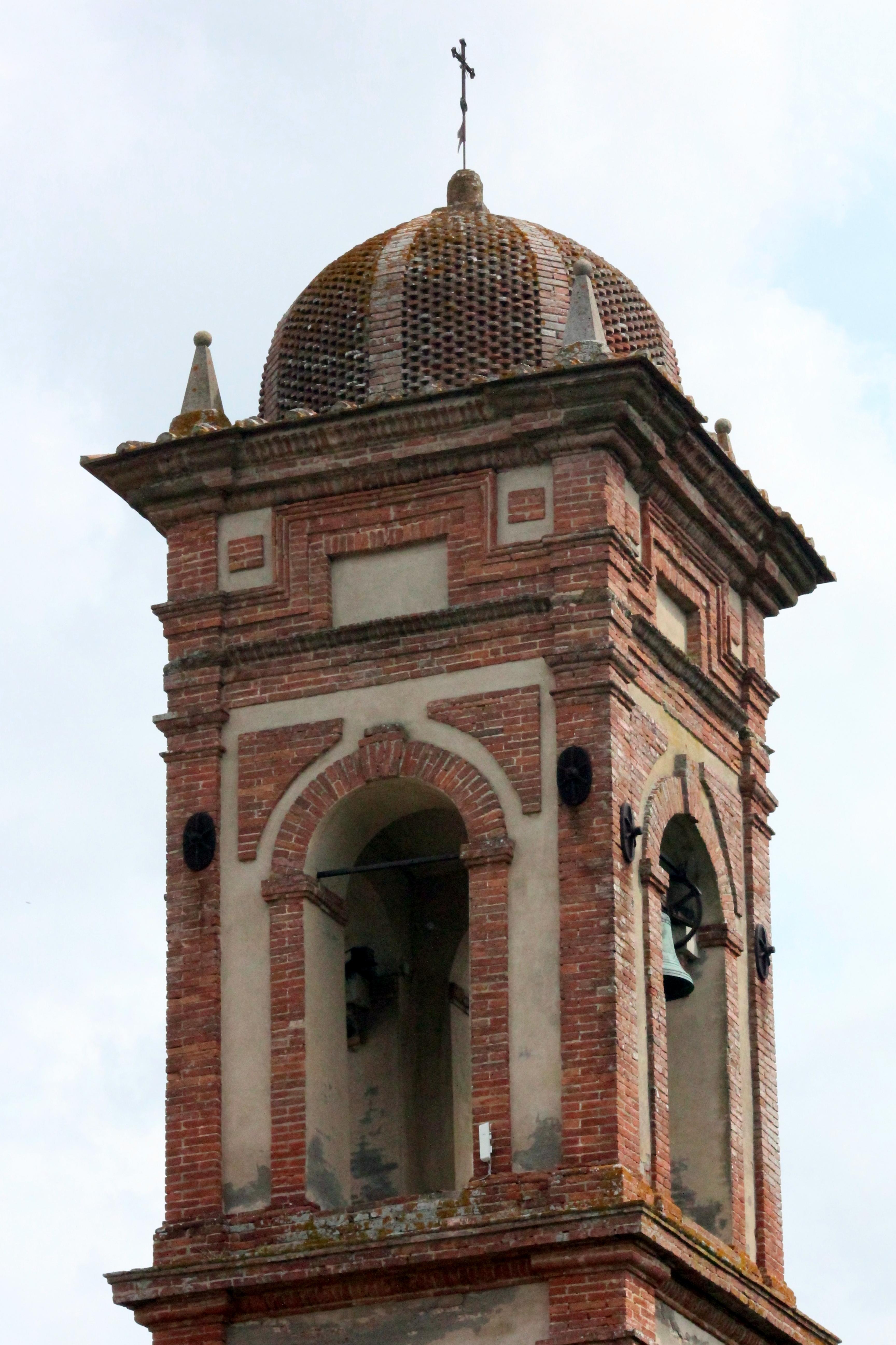 Campanile Chiesa del Triano, Montefollonico