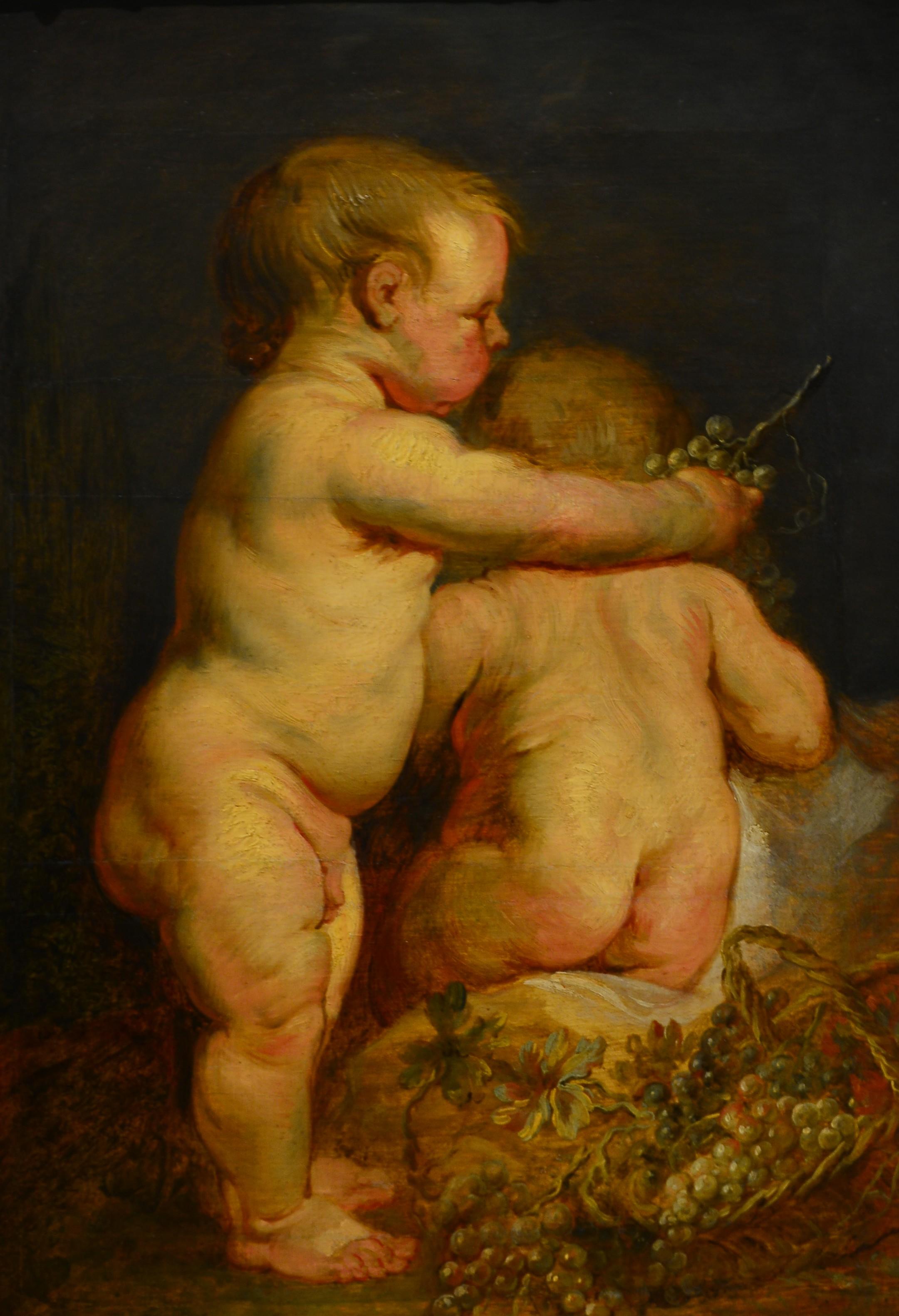 nakna barn