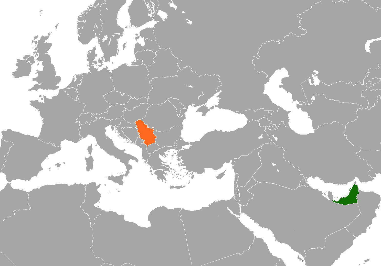 Serbia–United Arab Emirates relations Diplomatic relations between the Republic of Serbia and the United Arab Emirates