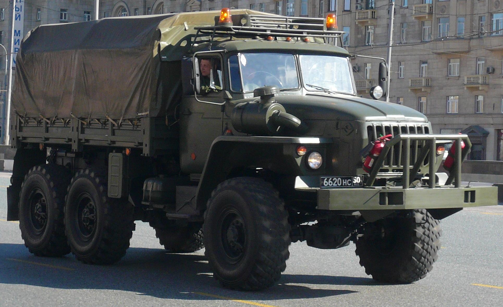 russian truck