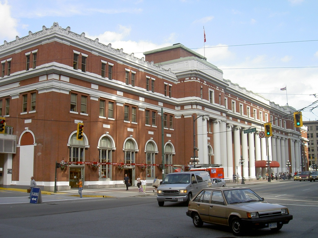 Waterfront Station in Vancouver, BC