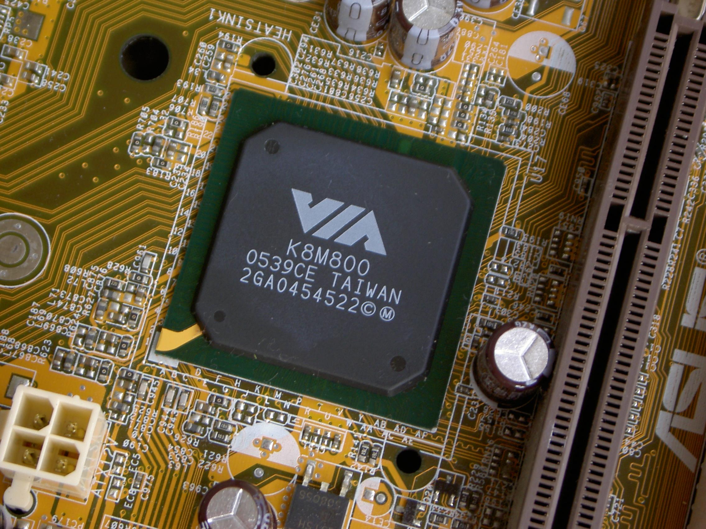 Via(4) VIA unichrome graphics driver - Linux man page