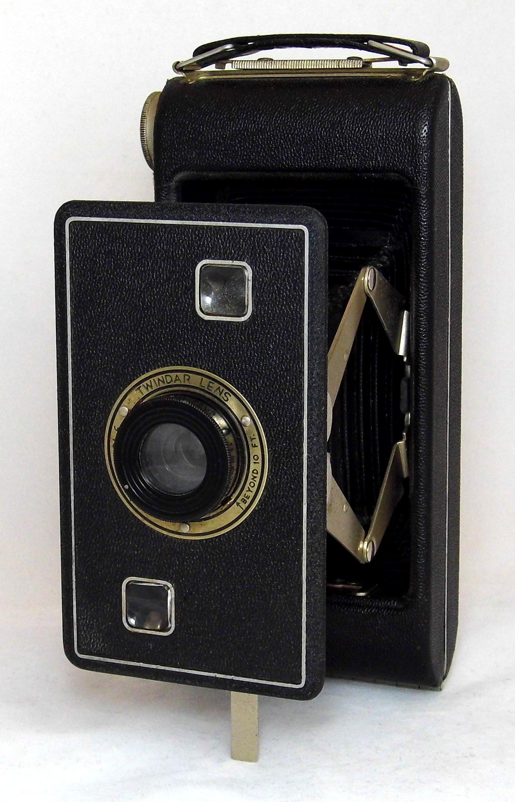 Filevintage Kodak Jiffy Six 16 Series Ii Folding Film Camera Uses