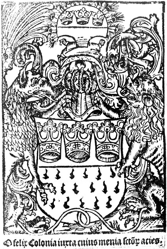 Stadt Köln Wappen File:wappen Der Stadt Köln Mit
