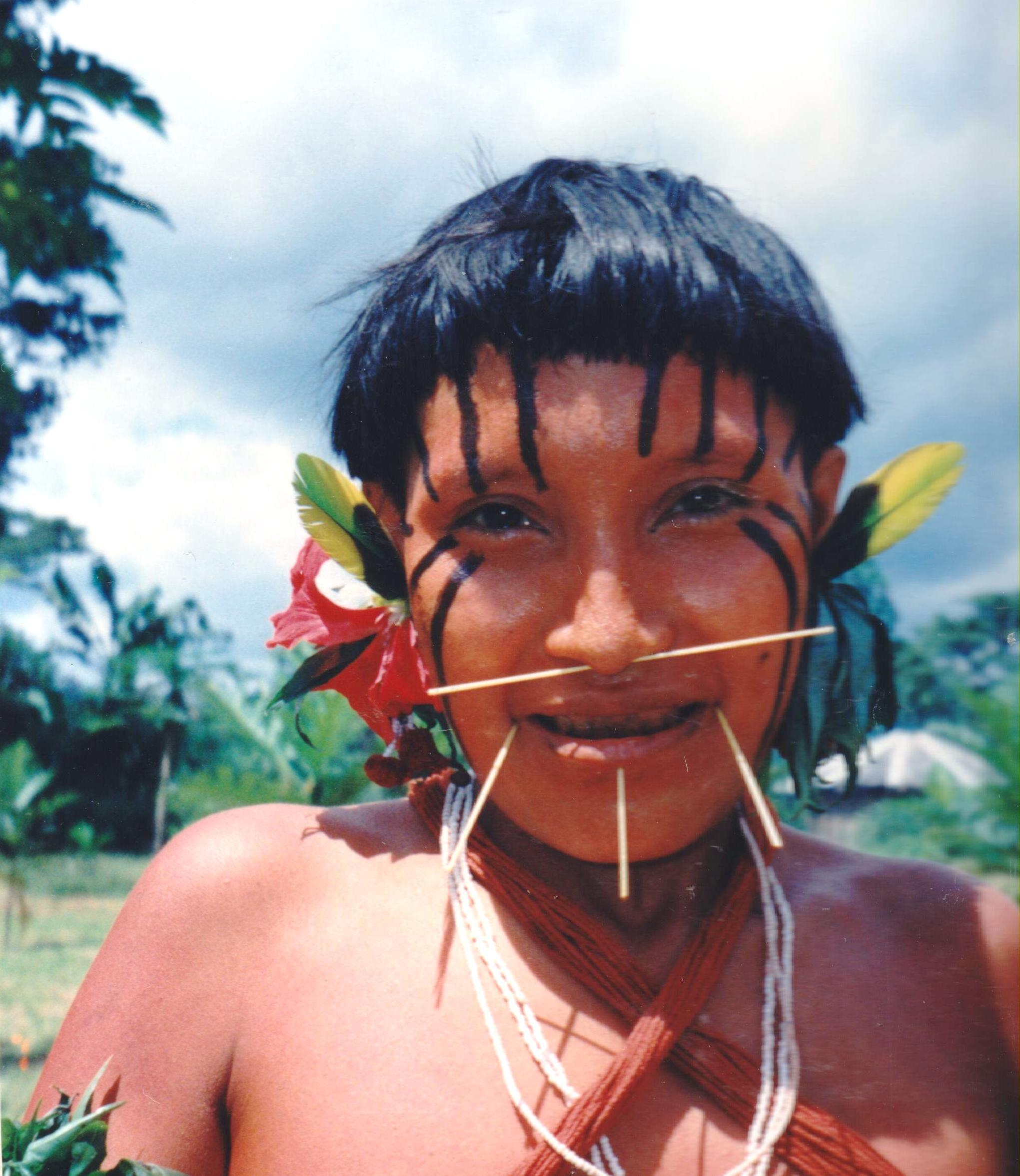 Индейцы нудисты