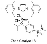 Zhan catalyst group of chemical compounds