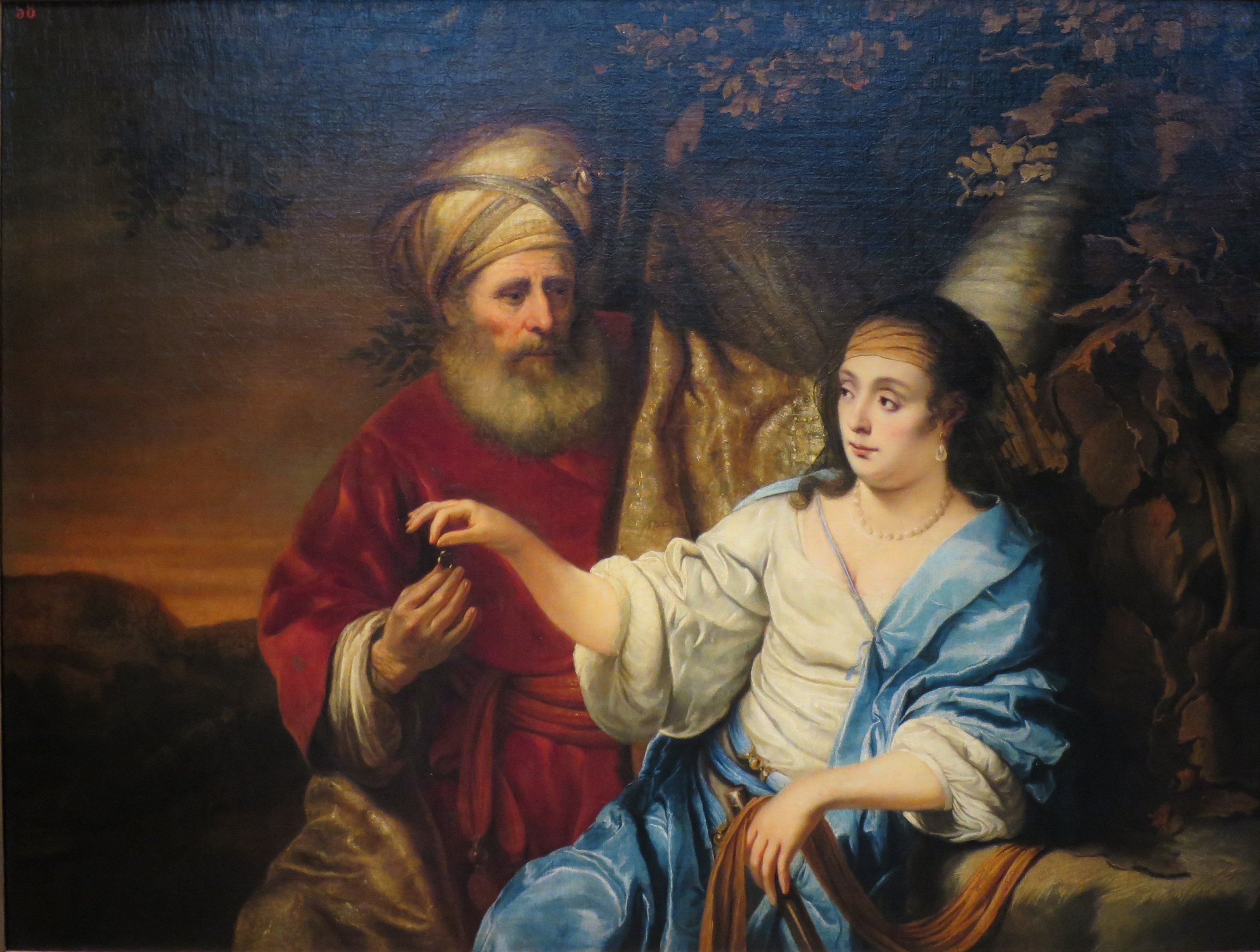File Judah And Tamar By Ferdinand Bol 1653 Pushkin