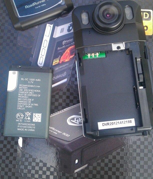 Видео регистратор с батареей специализированный авторегистратор
