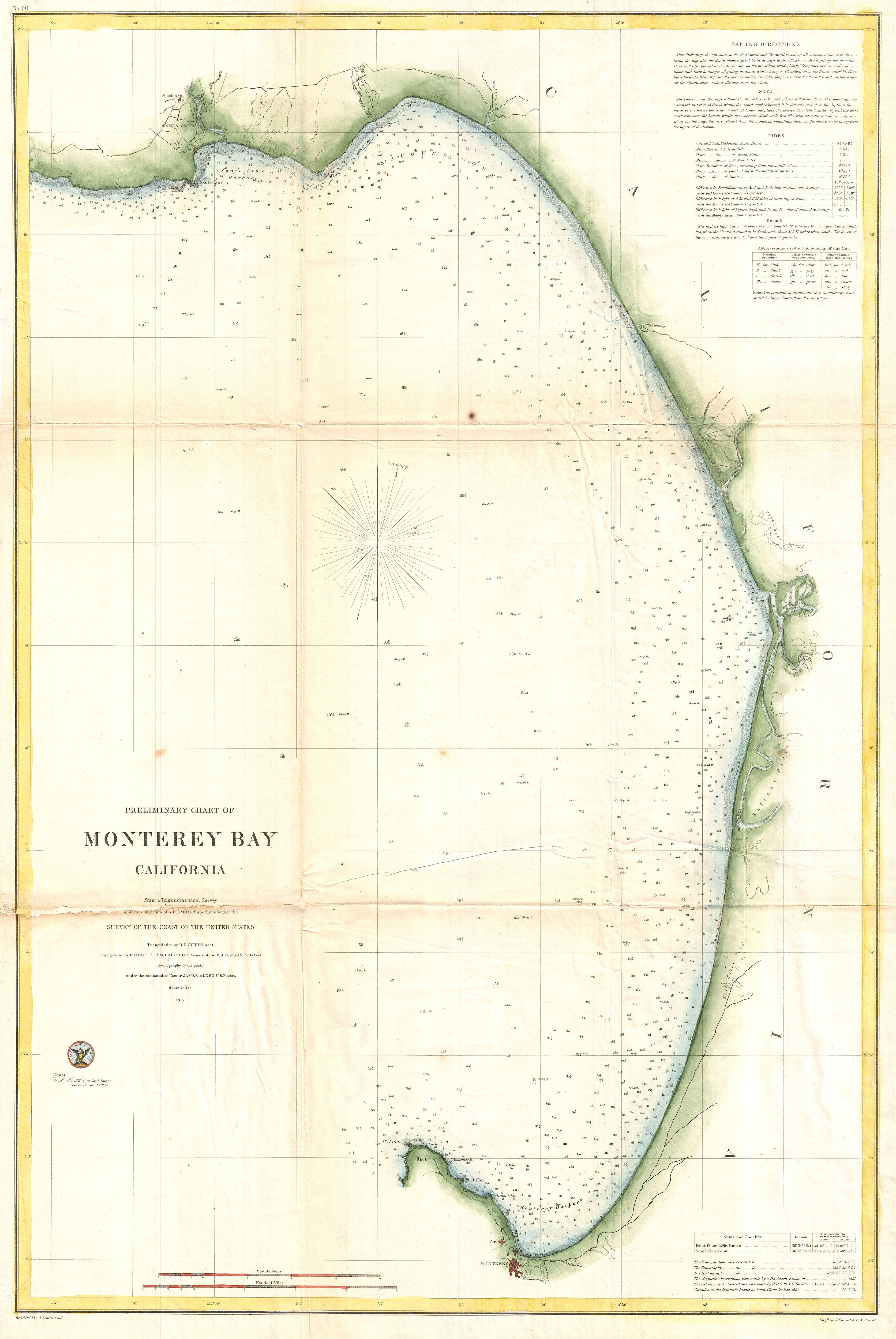 file 1857 u s coast survey map of monterey bay california geographicus monteraybay