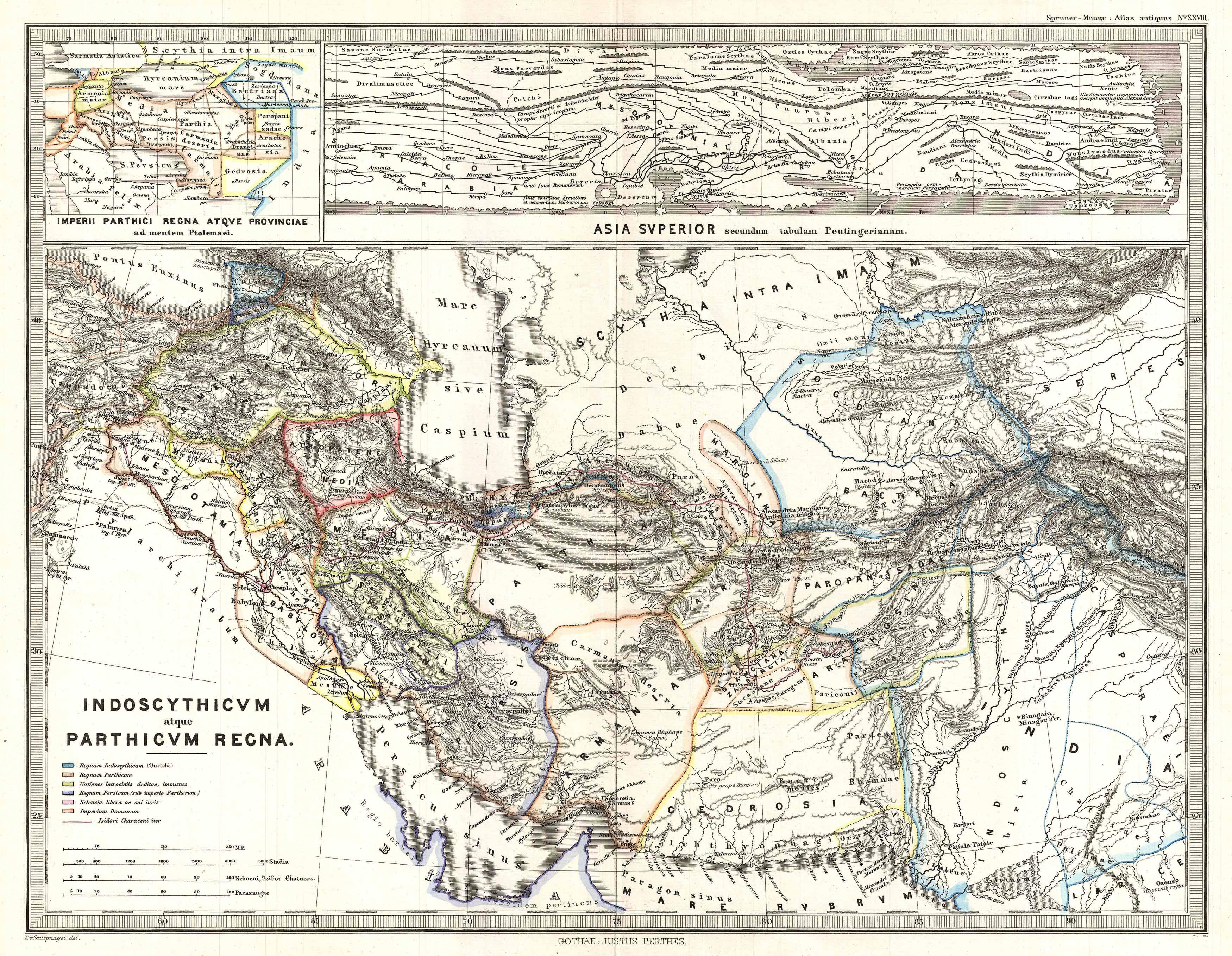 Maps Of Antiquity File:1865 Spruner Map of Persia in Antiquity   Geographicus  Maps Of Antiquity
