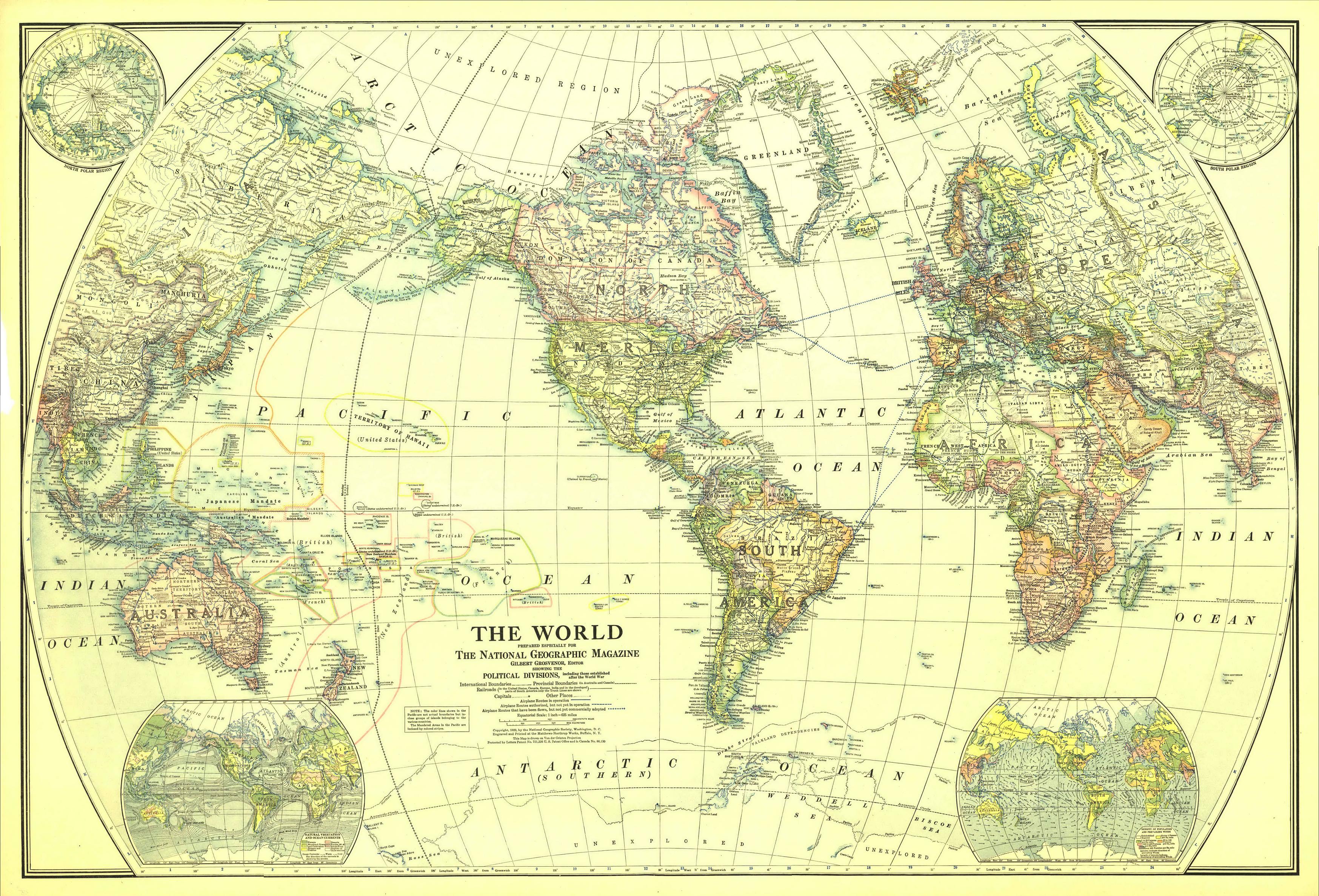 Vegetation Map Of The United States