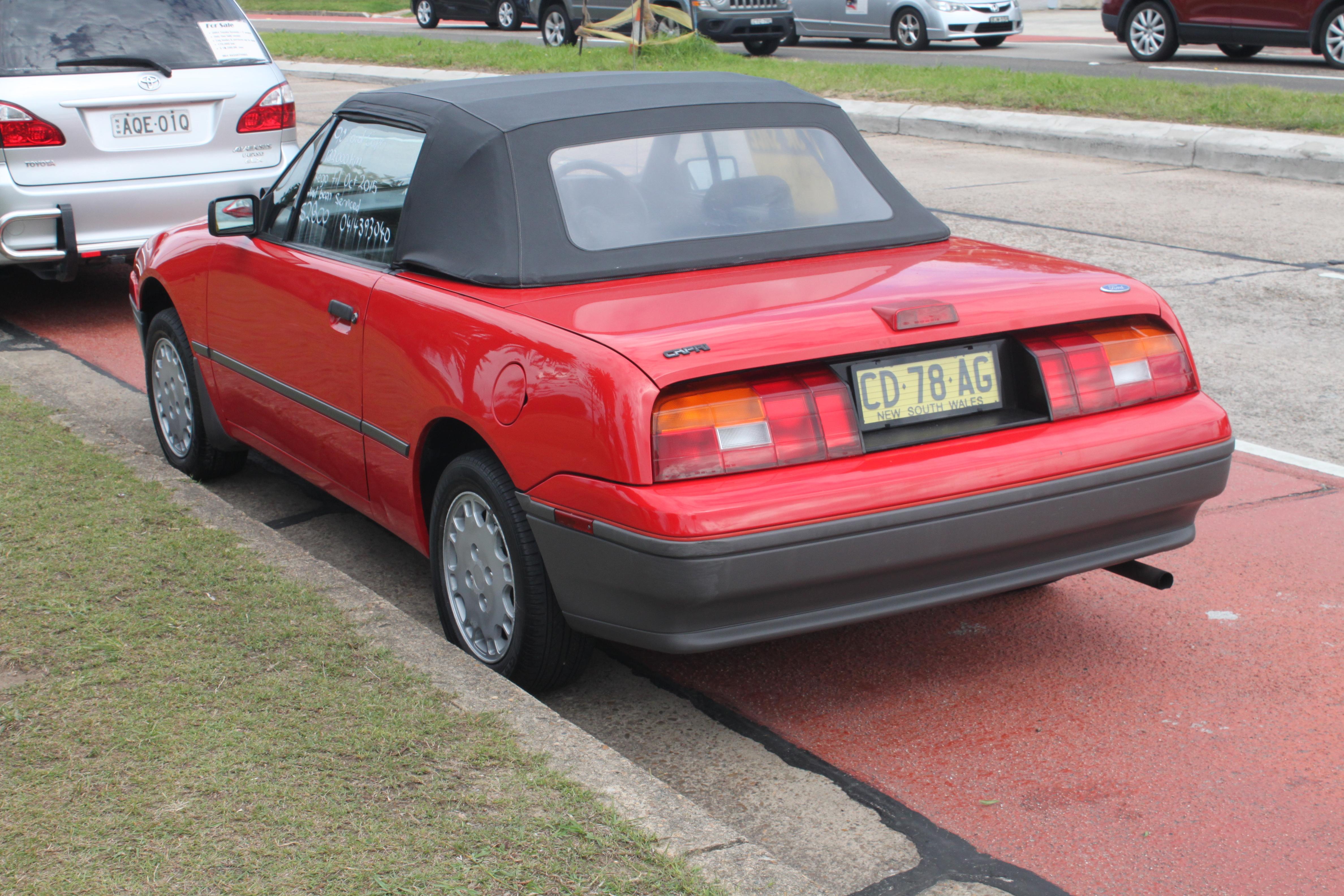 File 1990 Ford Capri Sa Convertible 16499412363 Jpg Wikimedia Commons