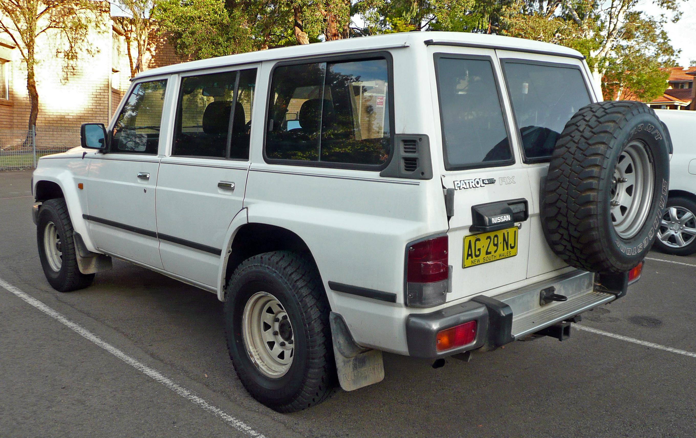 File 1995 1997 Nissan Patrol Gq Ii Rx Wagon 02 Jpg