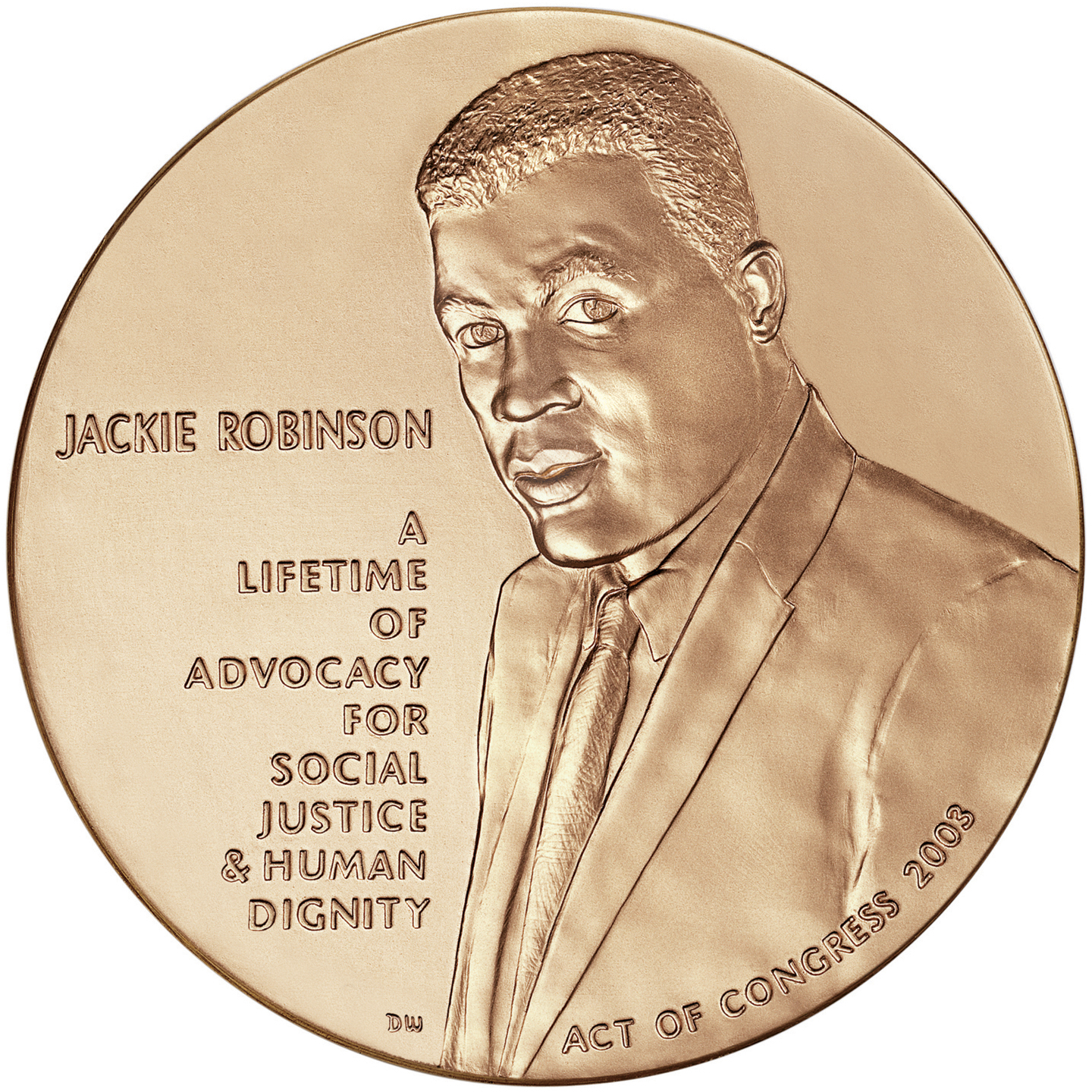 Congressional Gold Medal awarded to Jackie Rob...