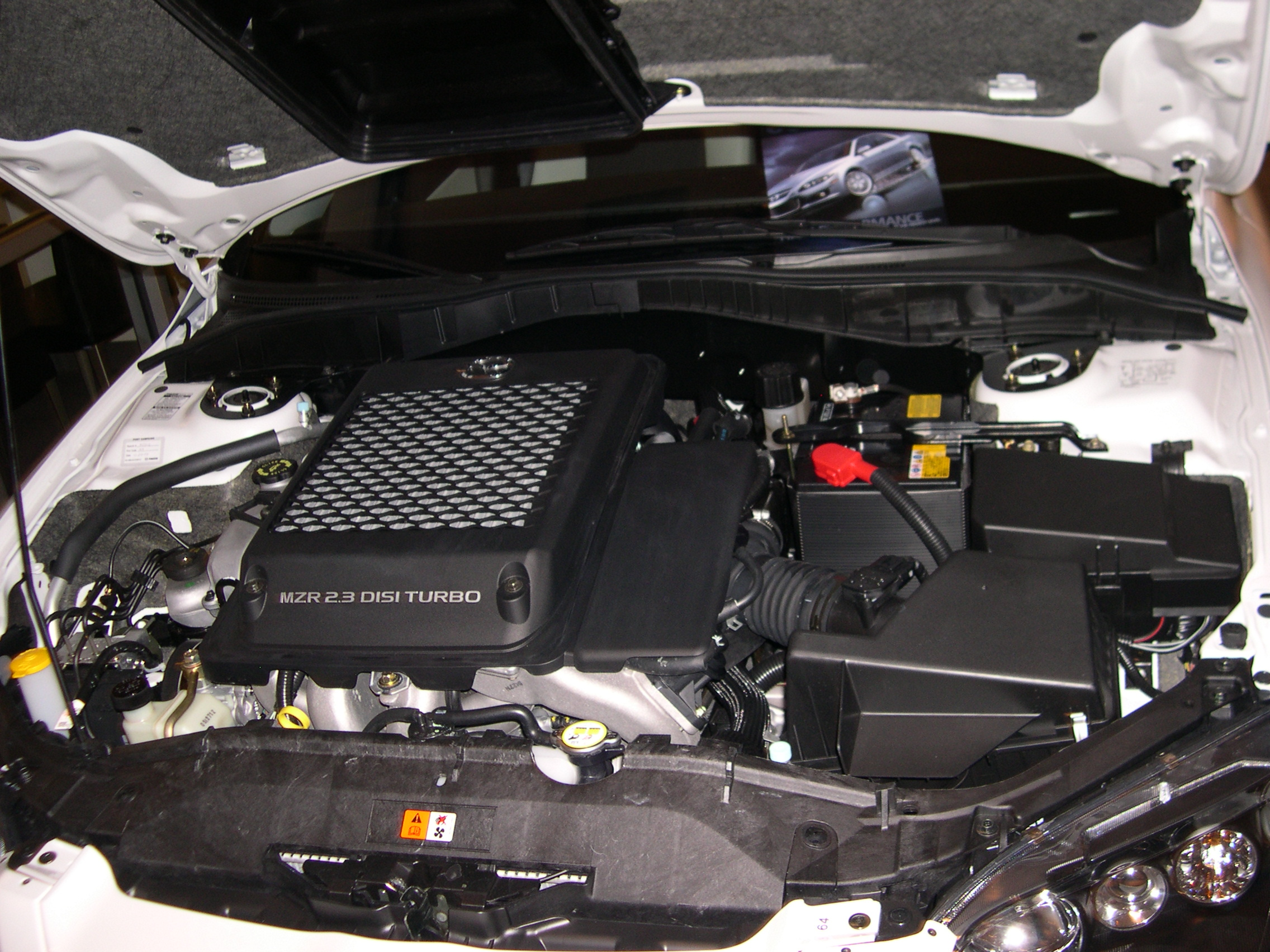 file 2006 mazdaspeed 6 mzr engine jpg wikimedia commons. Black Bedroom Furniture Sets. Home Design Ideas