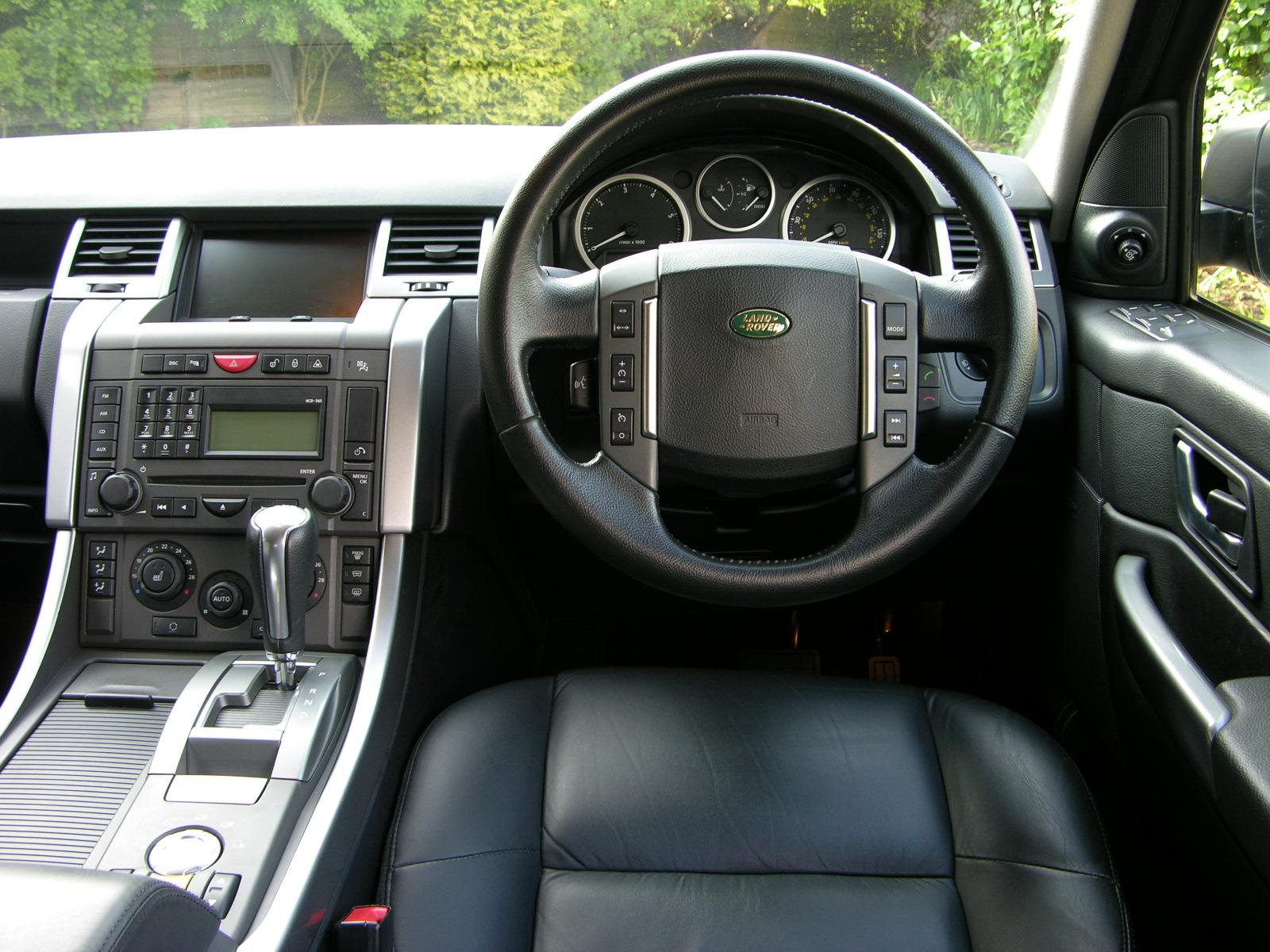 2007 range rover sport interior images galleries with a bite. Black Bedroom Furniture Sets. Home Design Ideas