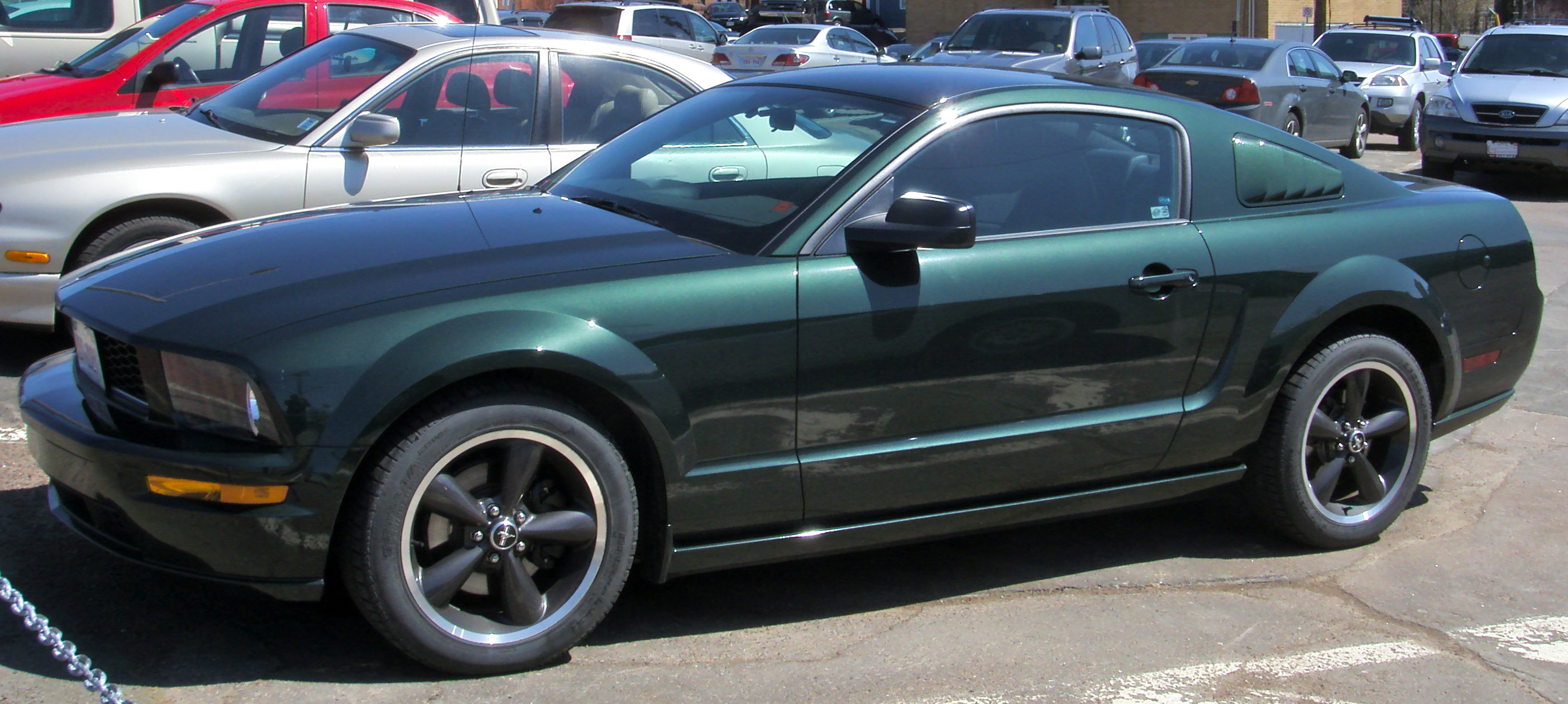 File 2008 Ford Mustang Bullitt Jpg Wikimedia Commons