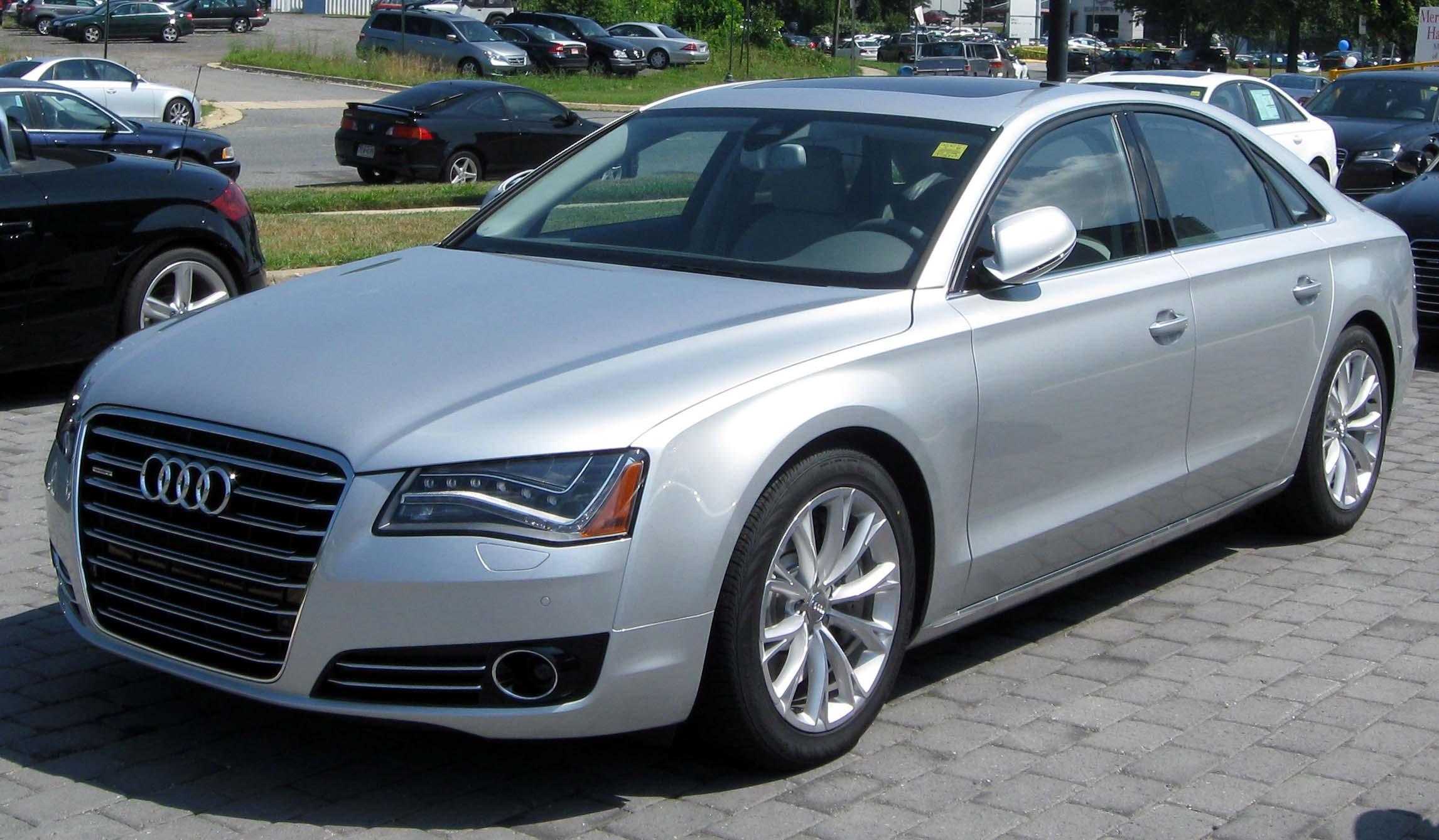 Audi A8 - Wikipedia, the free encyclopedia