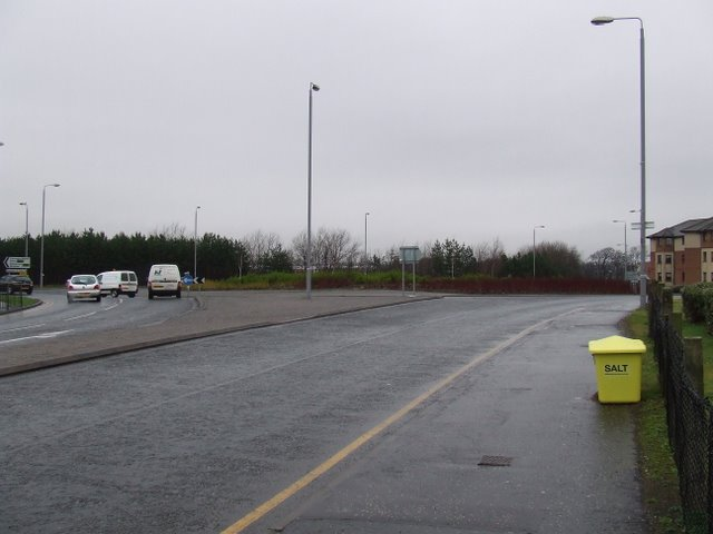A79 roundabout - geograph.org.uk - 1137841