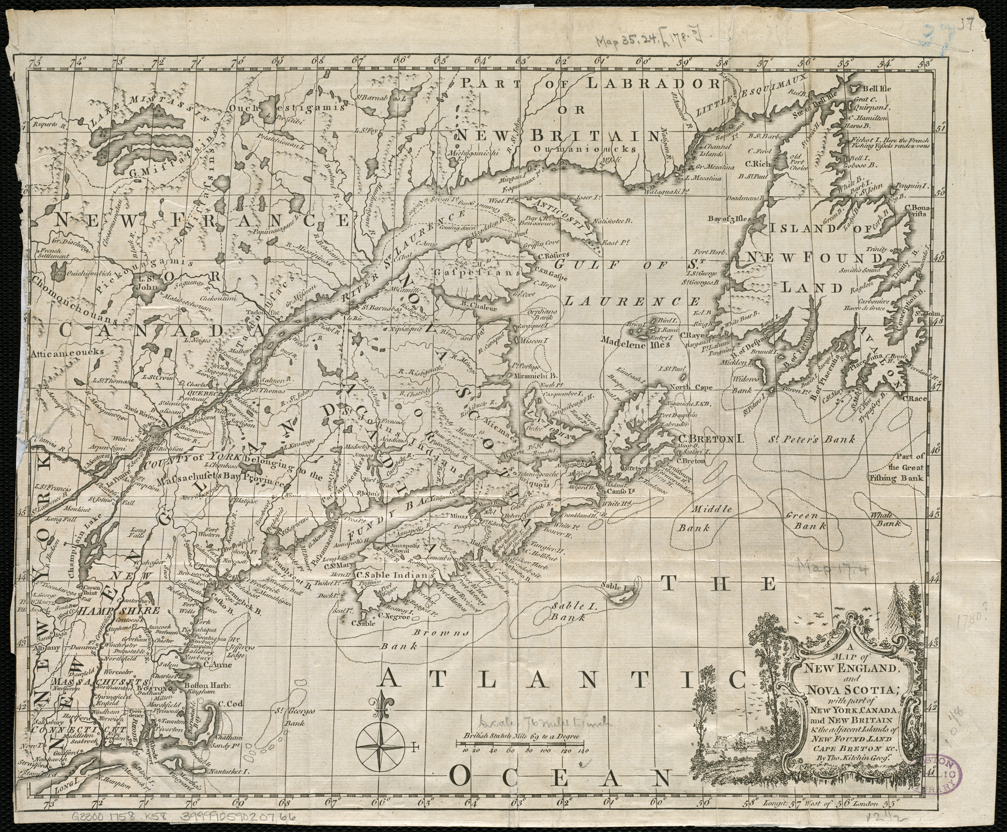 Datei:A map of New England, and Nova Scotia, with part of New York ...