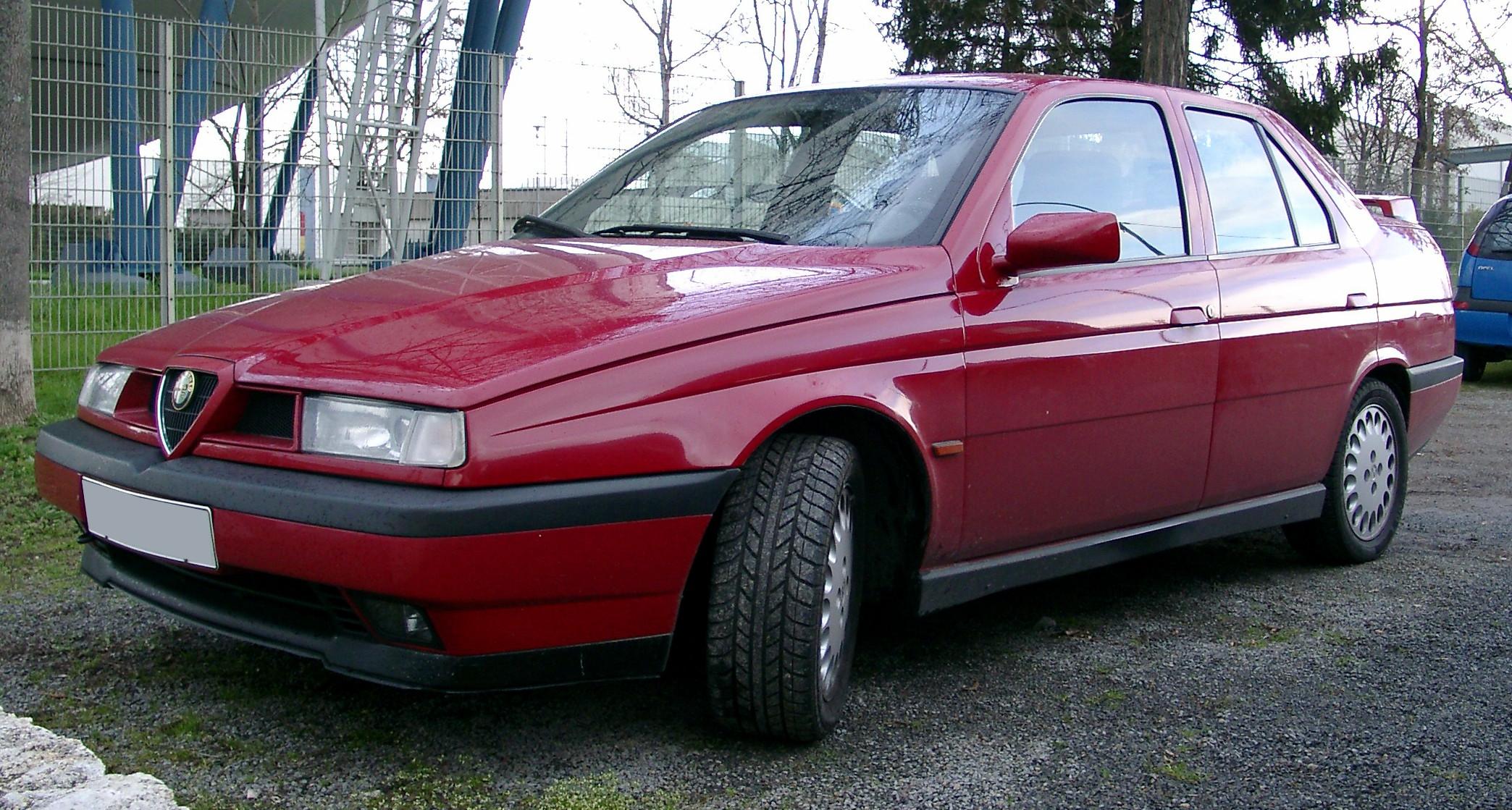 Файл:Alfa Romeo 155 front 20070321.jpg