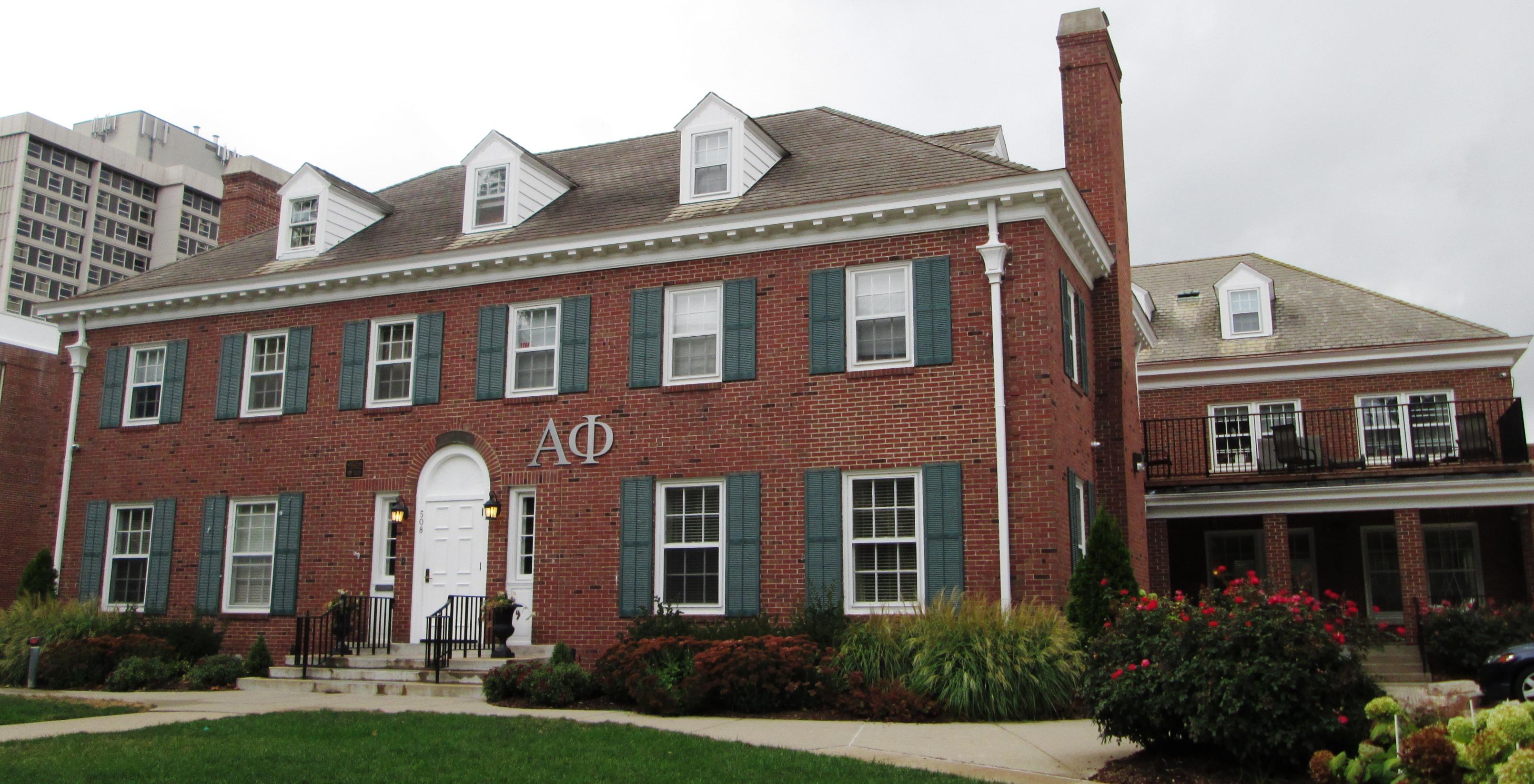 Alpha Phi House Design