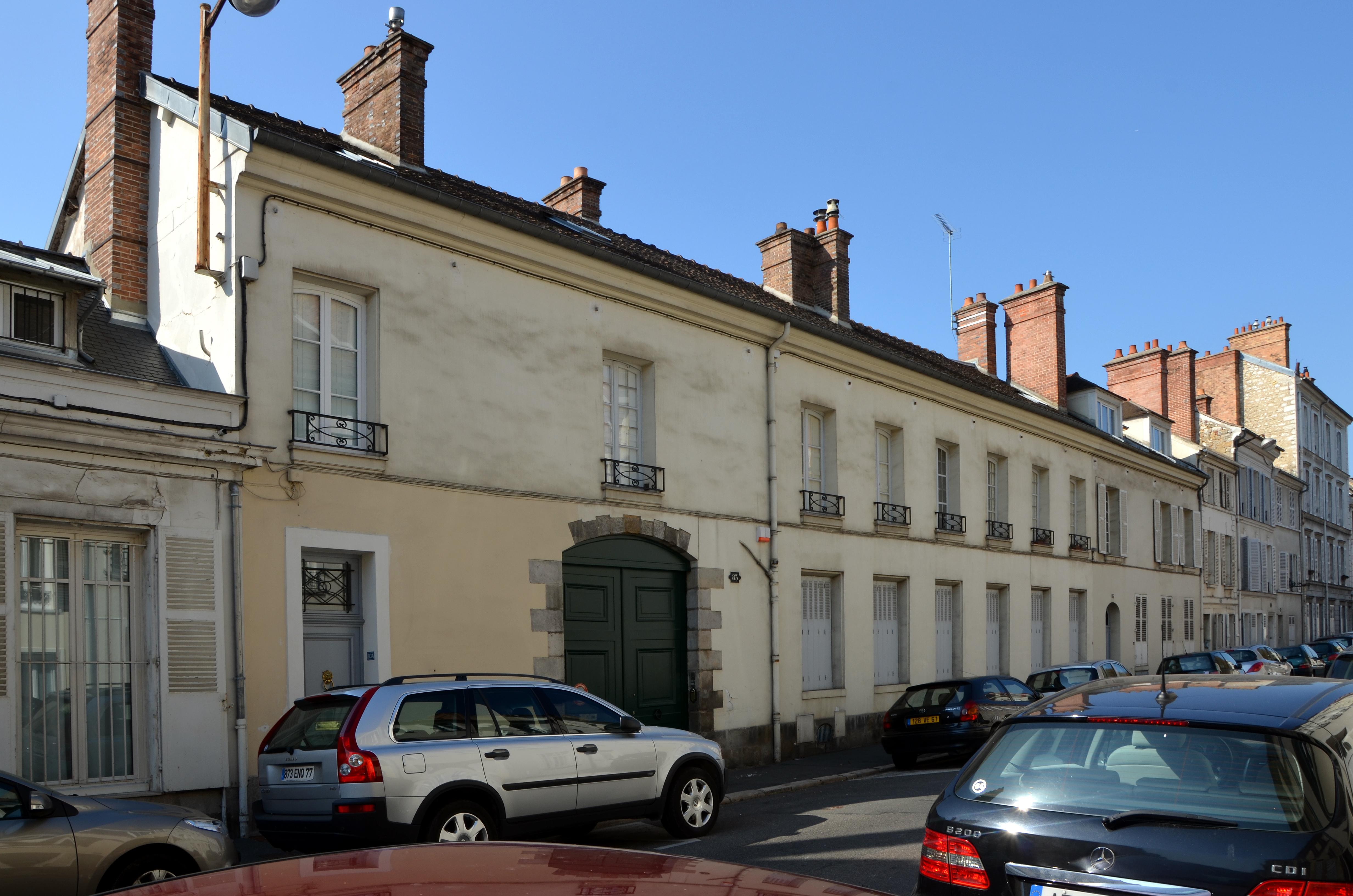 File ancien hotel d 39 orl ans 83 rue de france a for Hotel fontainebleau france
