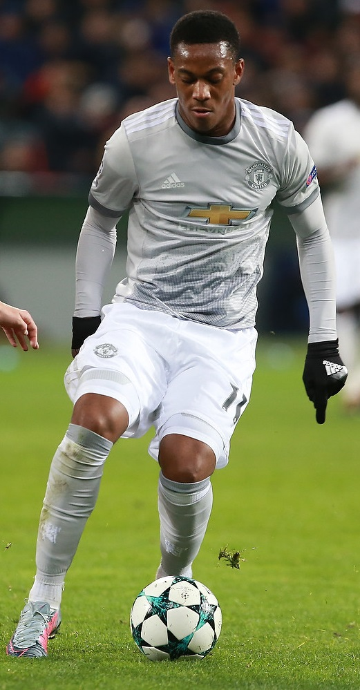 The 22-year old son of father (?) and mother(?) Anthony Martial in 2018 photo. Anthony Martial earned a  million dollar salary - leaving the net worth at 4.5 million in 2018