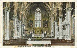 Image de l'intérieur vers 1900.