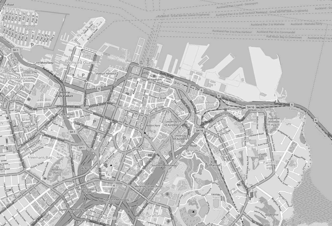 File:Auckland CBD Map BW.png - Wikimedia Commons
