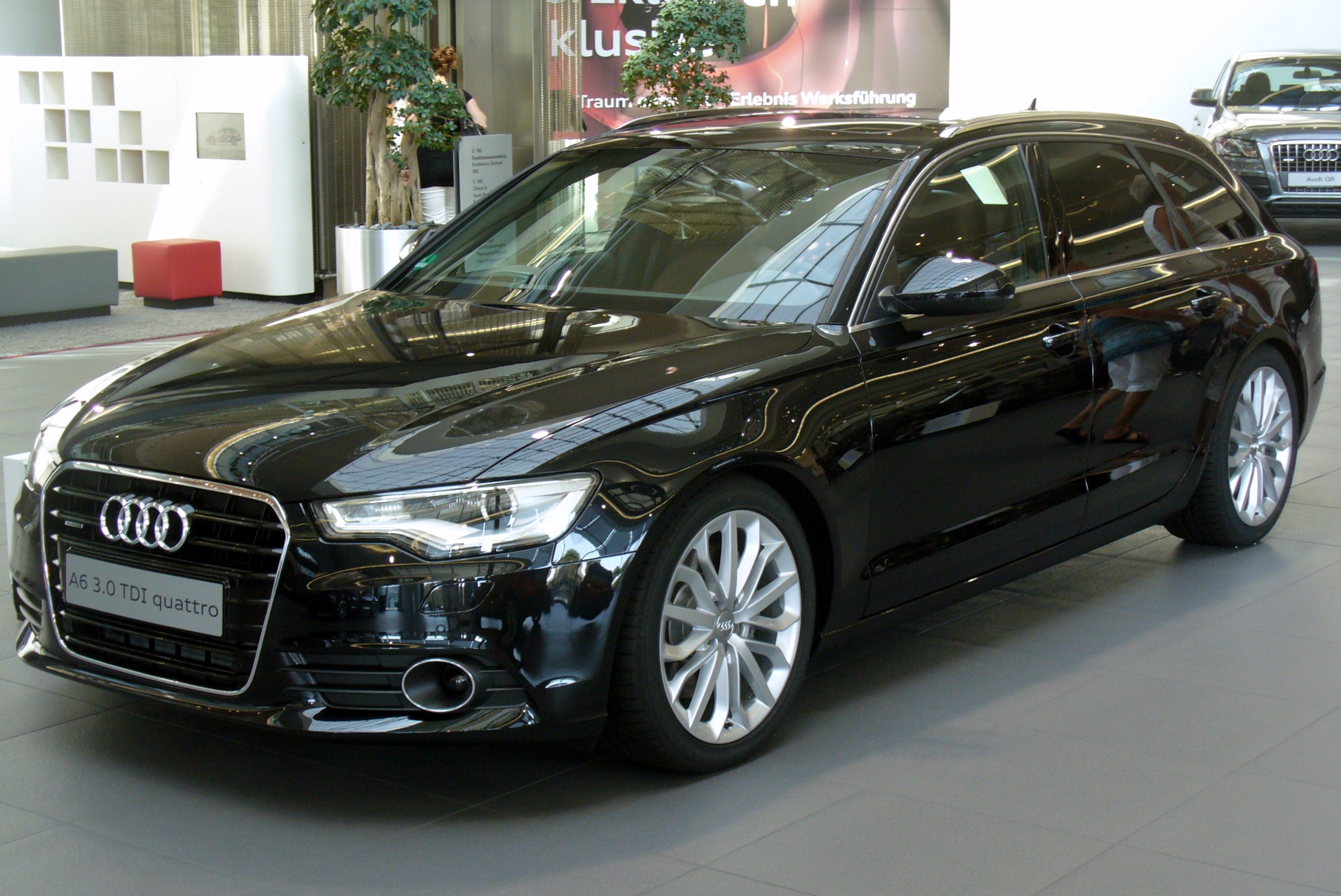 slika audi a6 avant 3 0 tdi quattro s tronic phantomschwarz jpg wikipedija prosta enciklopedija. Black Bedroom Furniture Sets. Home Design Ideas