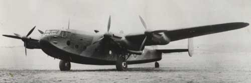 AVRO YORK LANCASTRIAN Flight