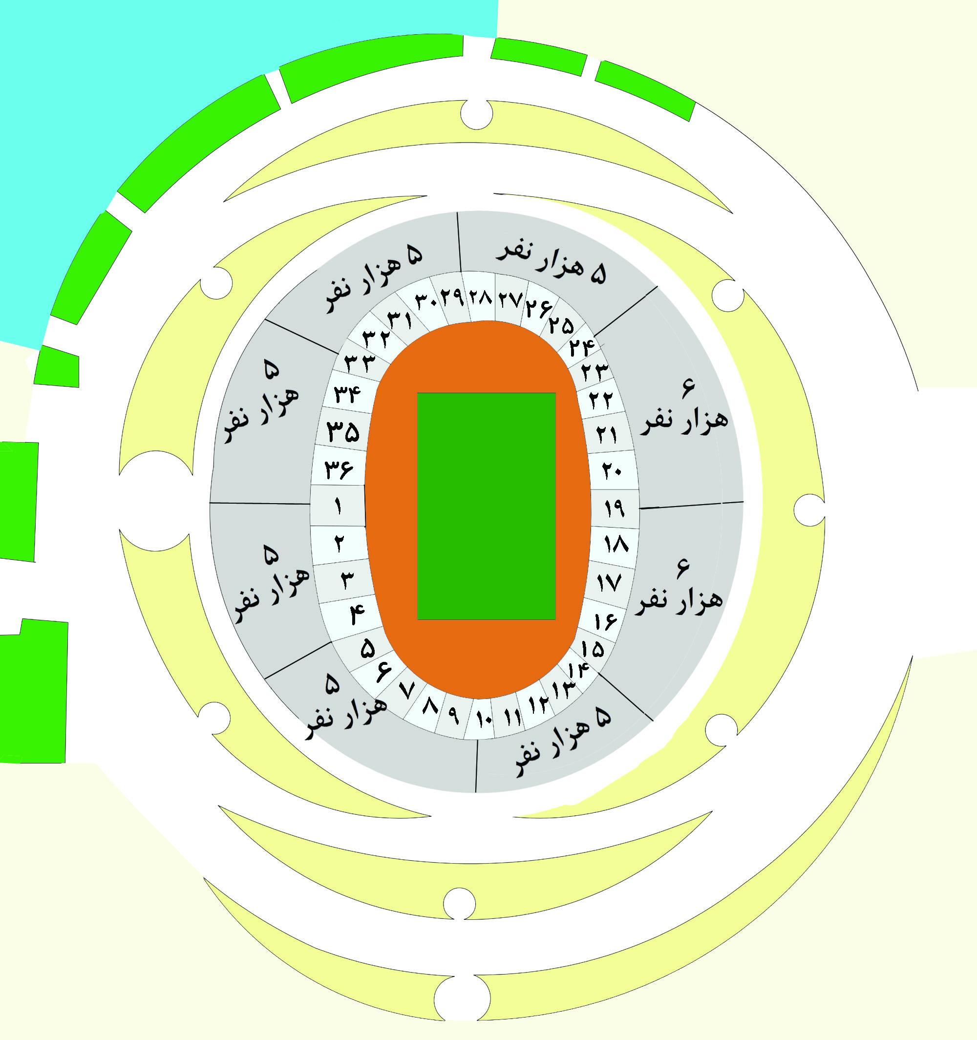 Stadium Design Plan Stadium Site Plan