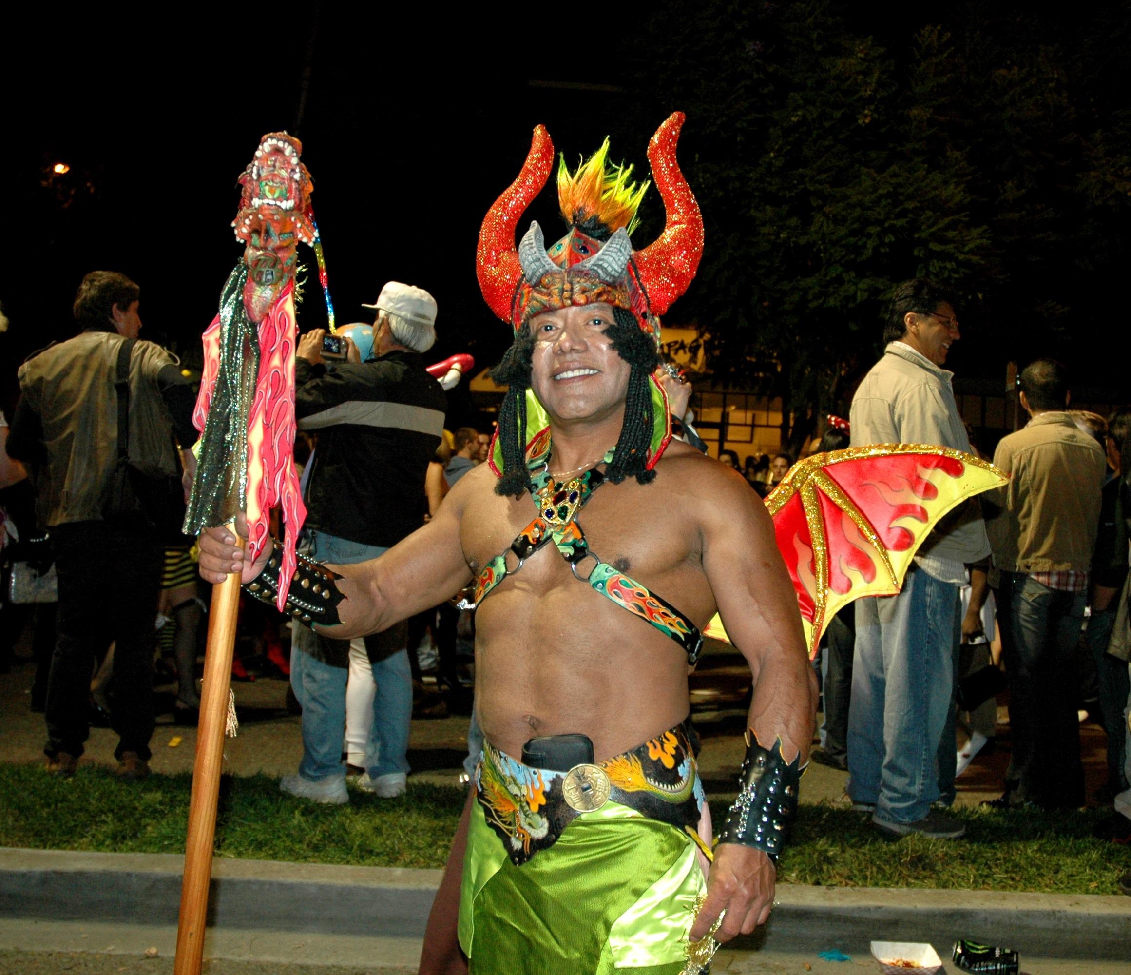 File:Aztec devil - 2007 West Hollywood Halloween Carnival.jpg ...