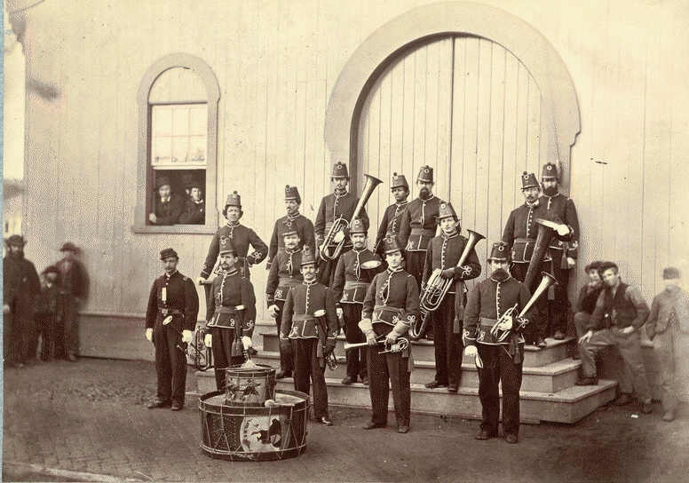 write a chronology of the civil war band