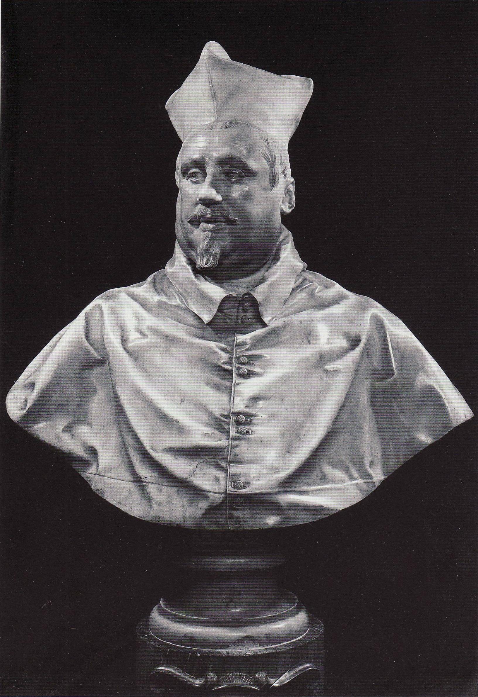 Scipione Borghese Bernini Bust of Scipione Borghese by