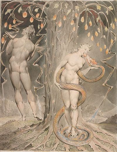 Blake Adam and Eve