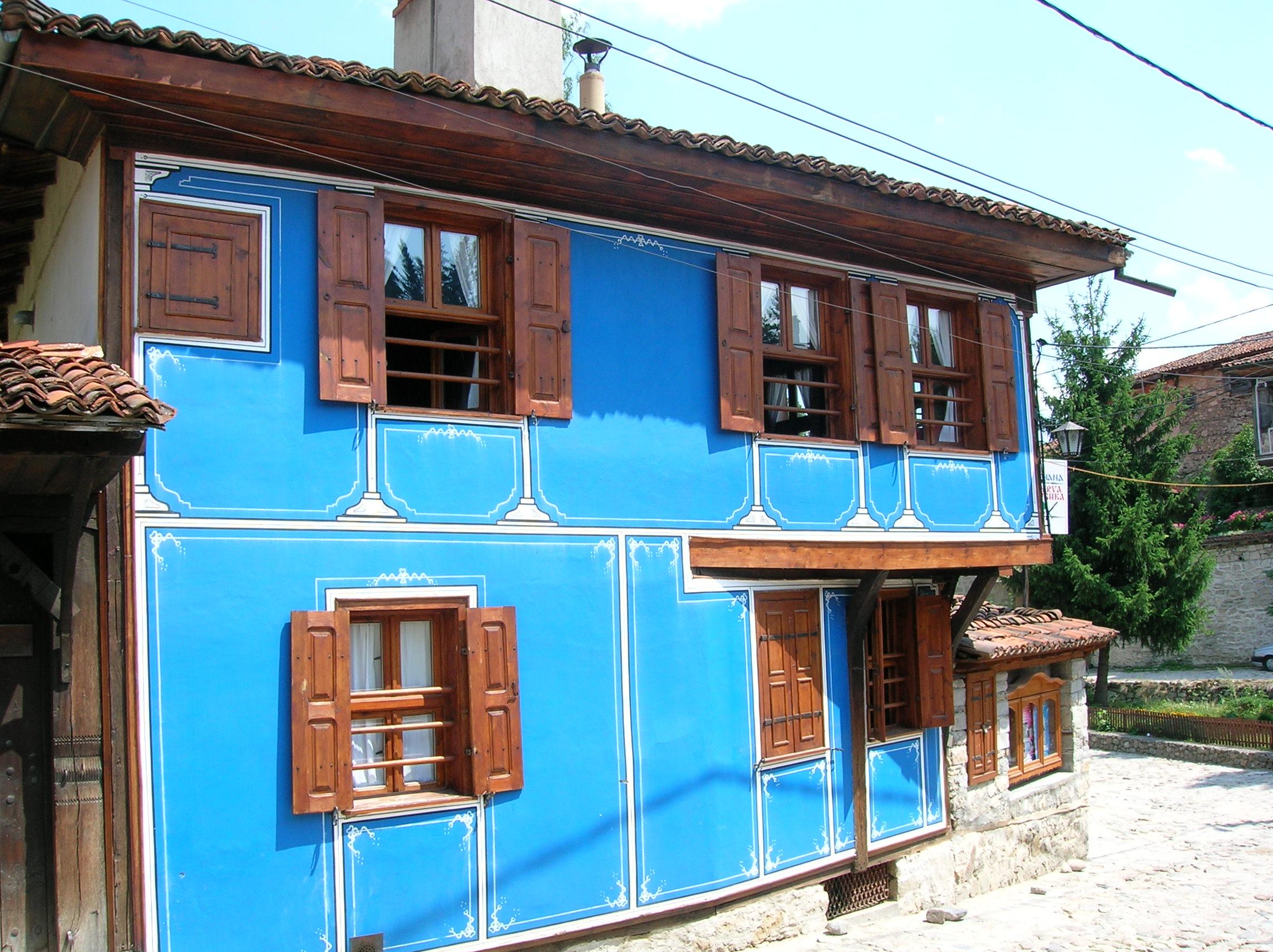 File blue house koprivshtitsa jpg wikimedia commons - Images of home ...