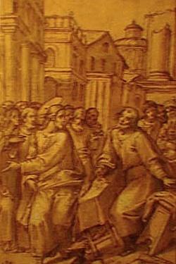 File:Bonifacio Veronese - Jesús expulsando del templo a los mercadores.jpg