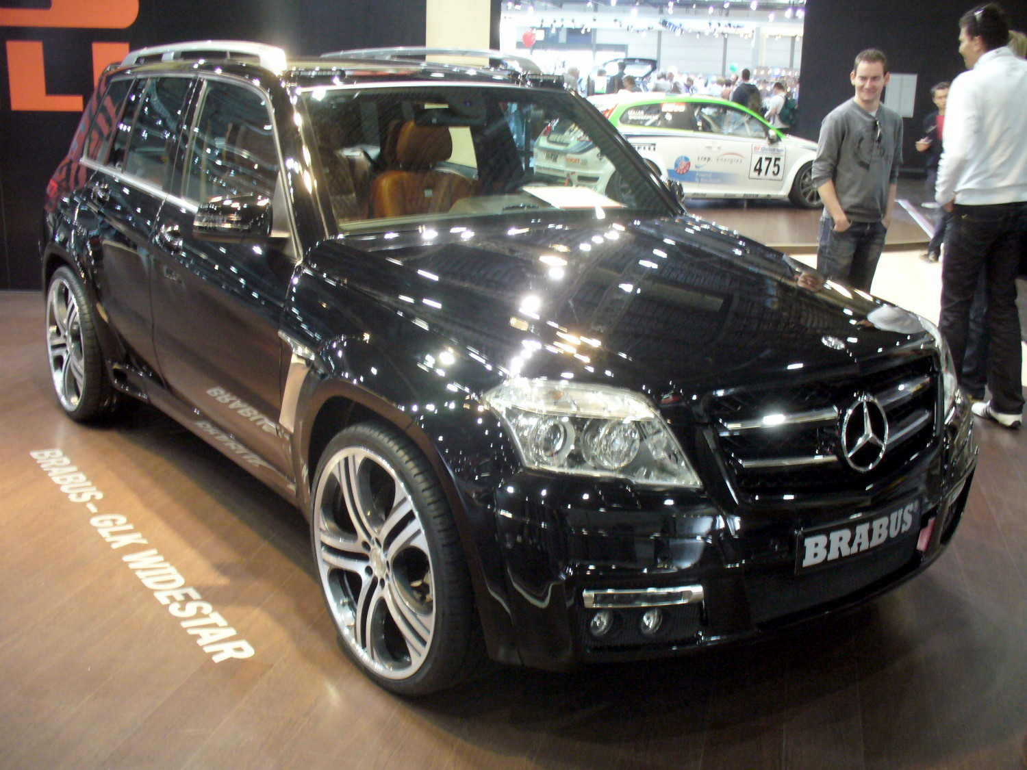 File Brabus Glk Widestar Jpg Wikimedia Commons