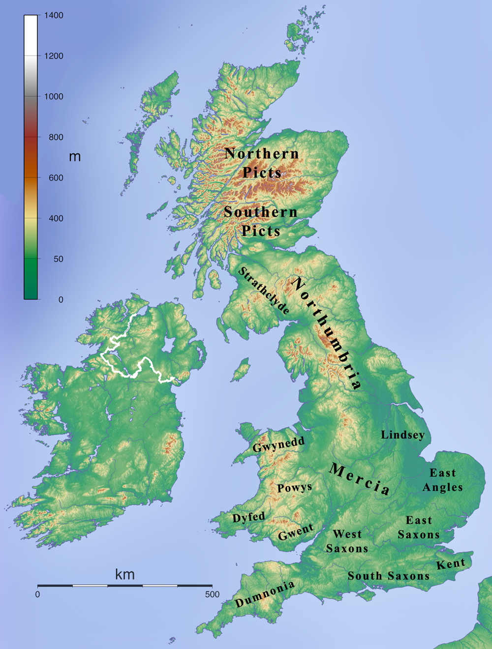 Map Of Uk 1000.File British Kingdoms C 800 Png Wikimedia Commons