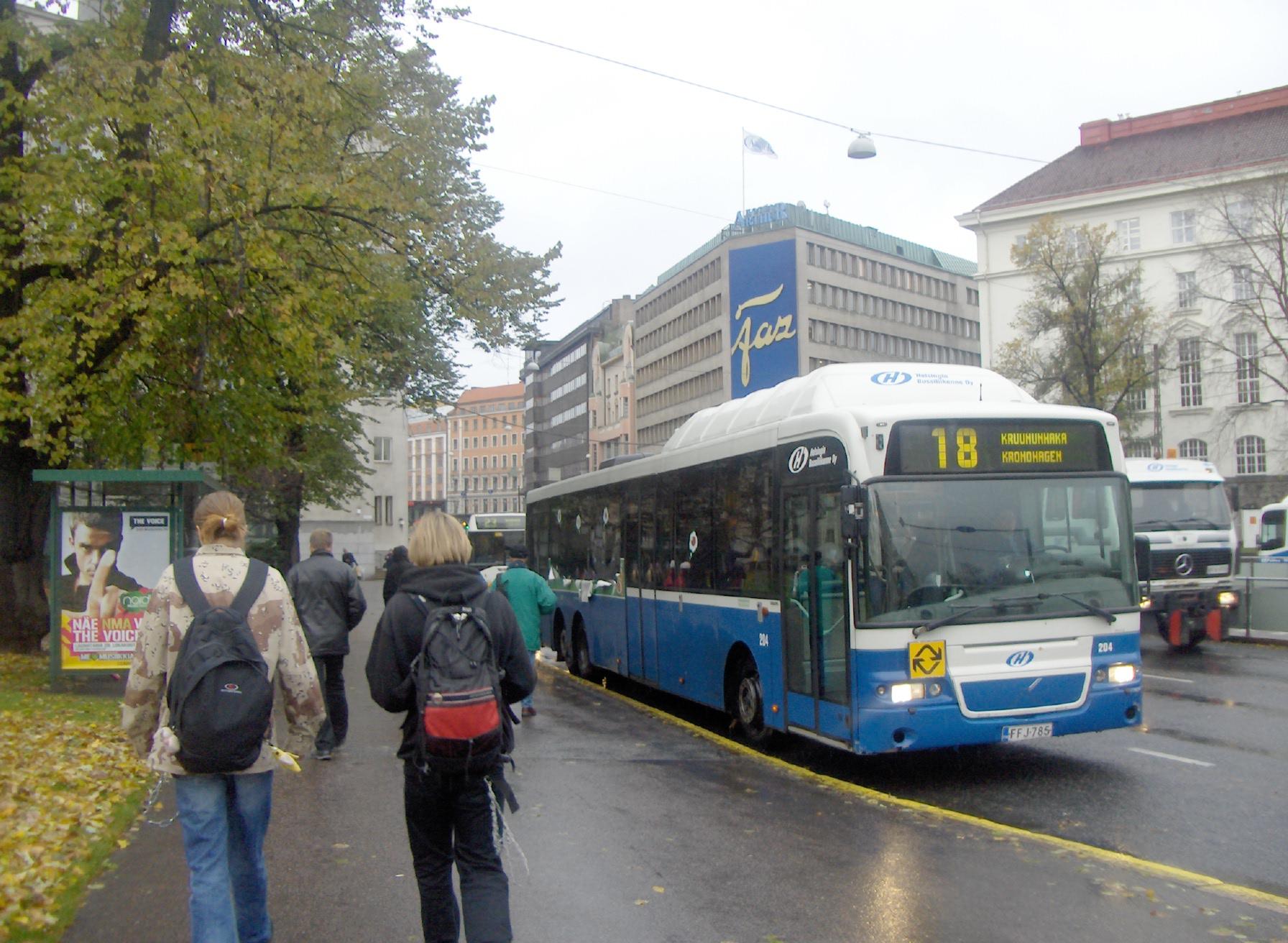 Turku Helsinki Bussi