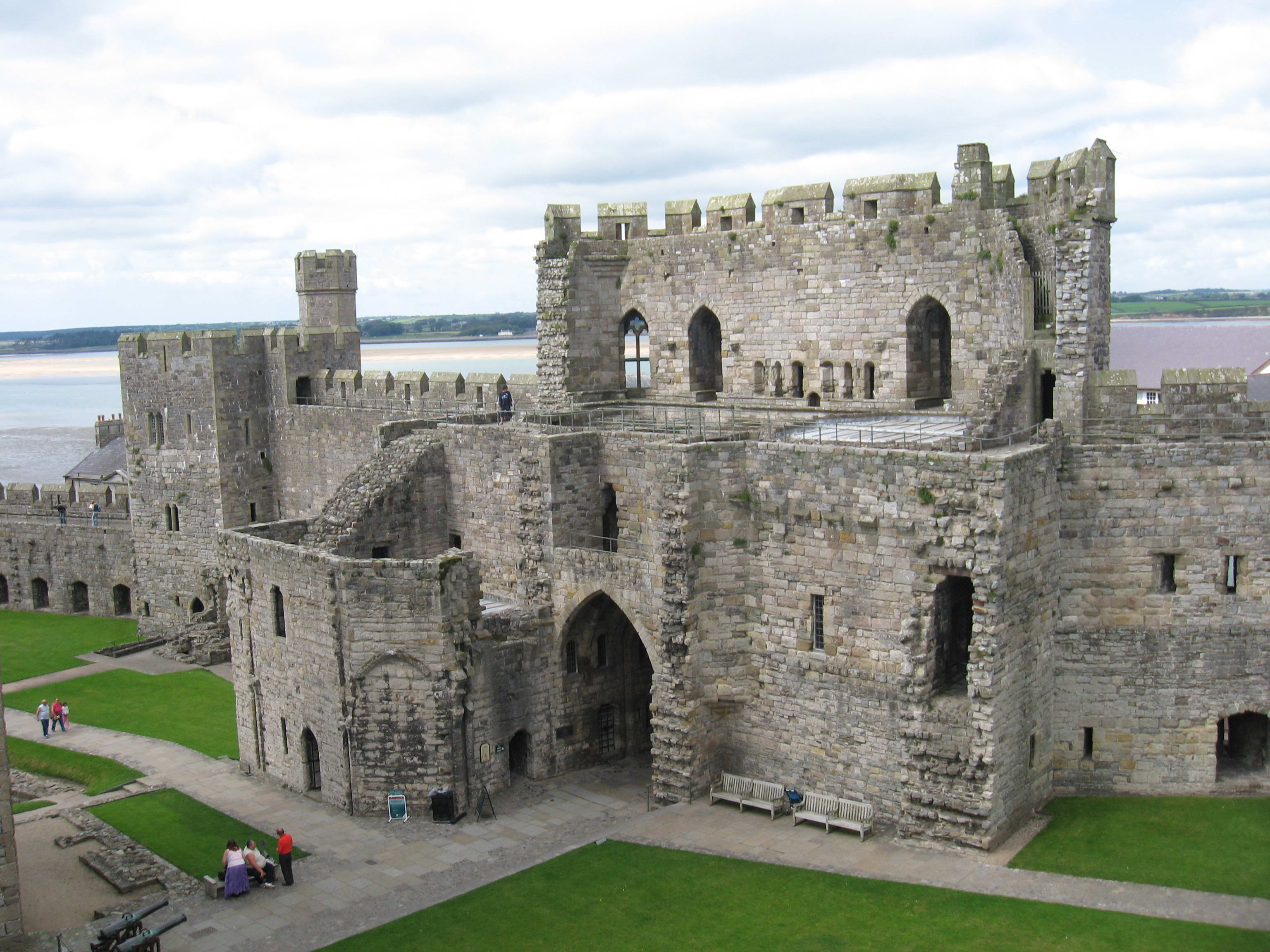 Wales Caernarfon Castle Travel