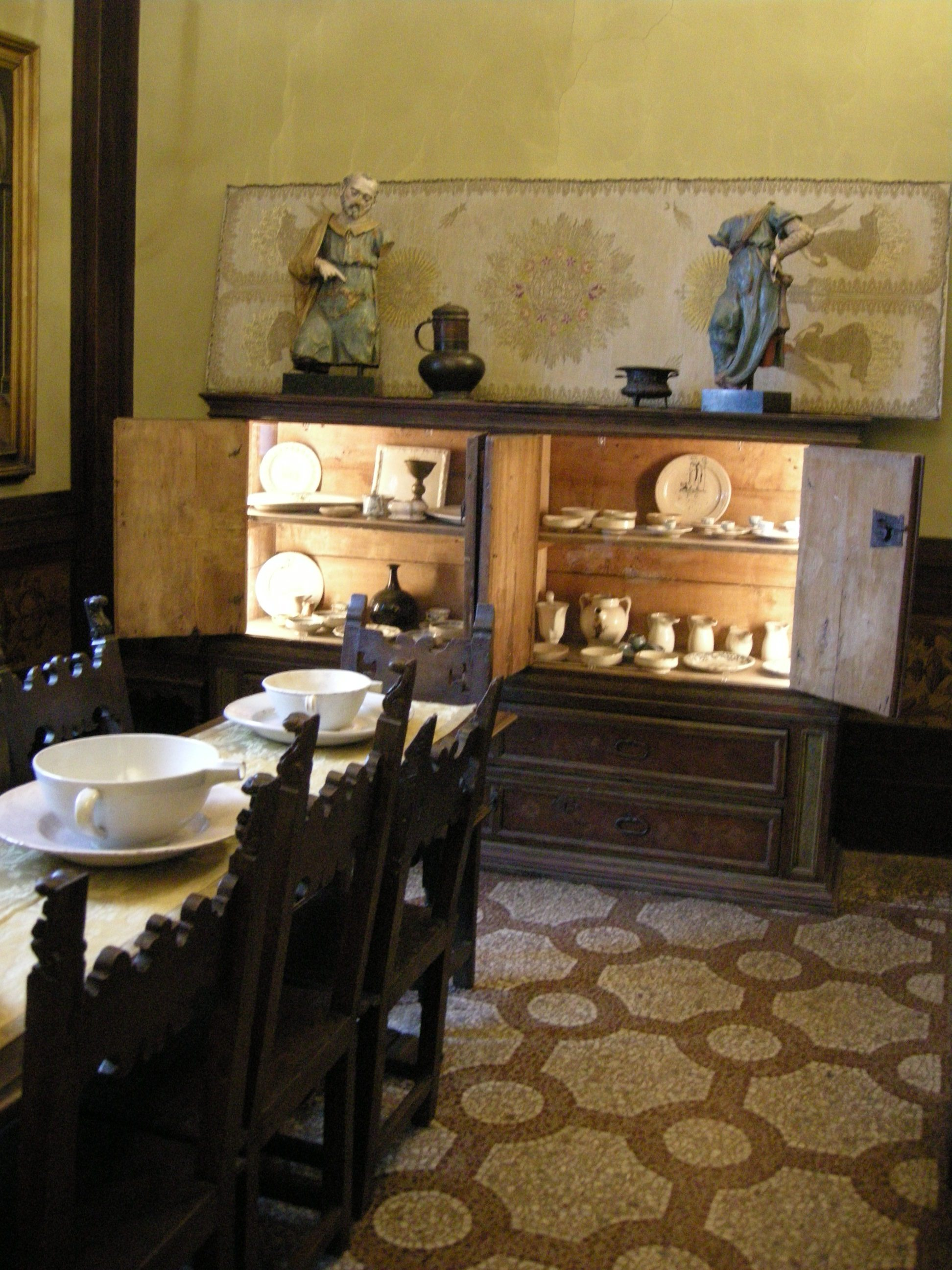 File:Casa Siviero Sala Da Pranzo 01.JPG Wikimedia Commons #977B34 1944 2592 Quadri Da Sala Da Pranzo