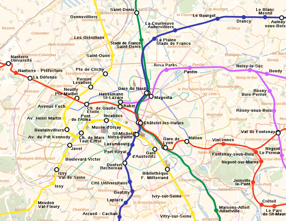 Réseau Express Régional Wikimedia mons
