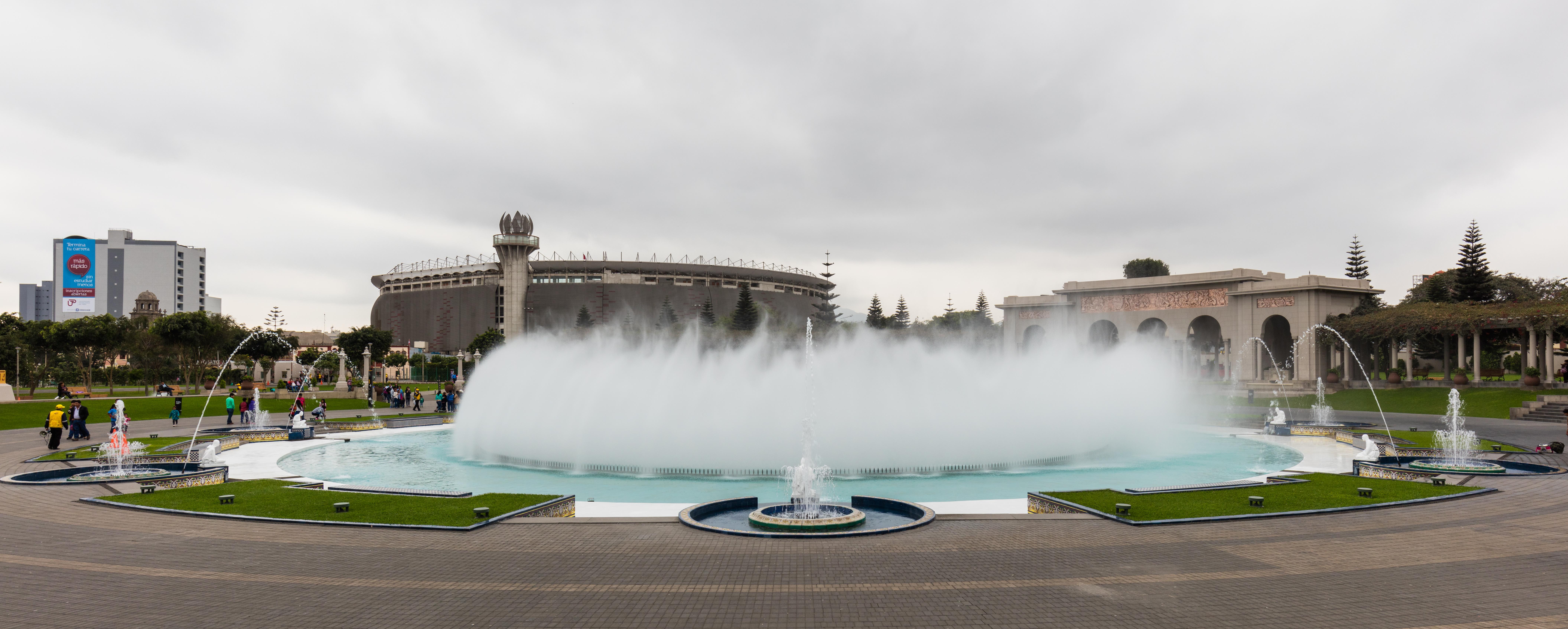 Water fountains lima - Circuito M Gico Del Agua Parque Reserva Lima Per 2015 07